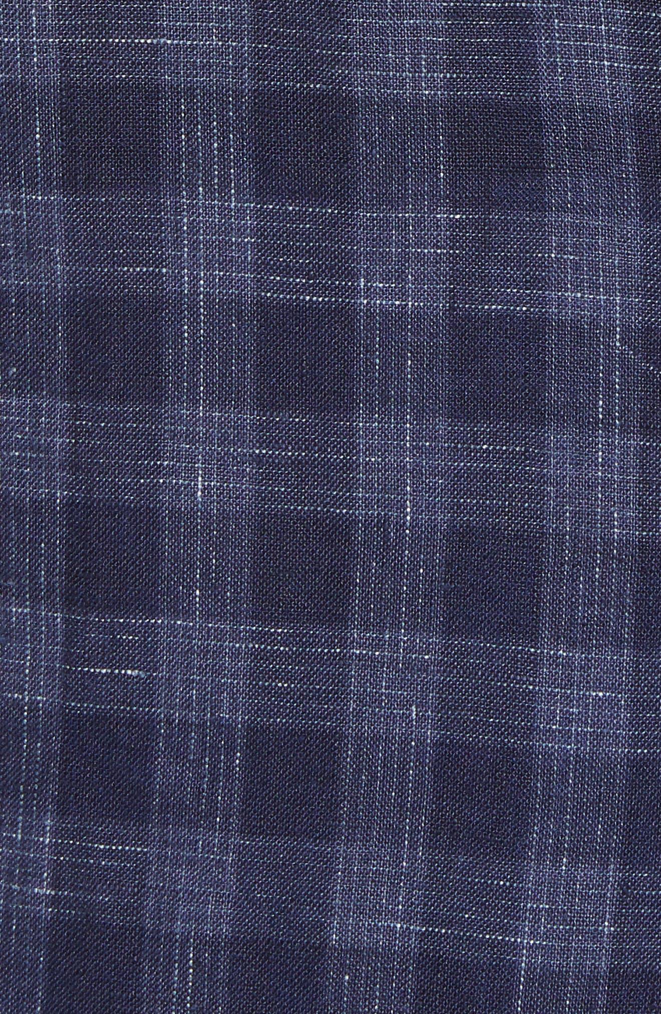 Bowser Regular Fit Sport Coat,                             Alternate thumbnail 5, color,                             Navy