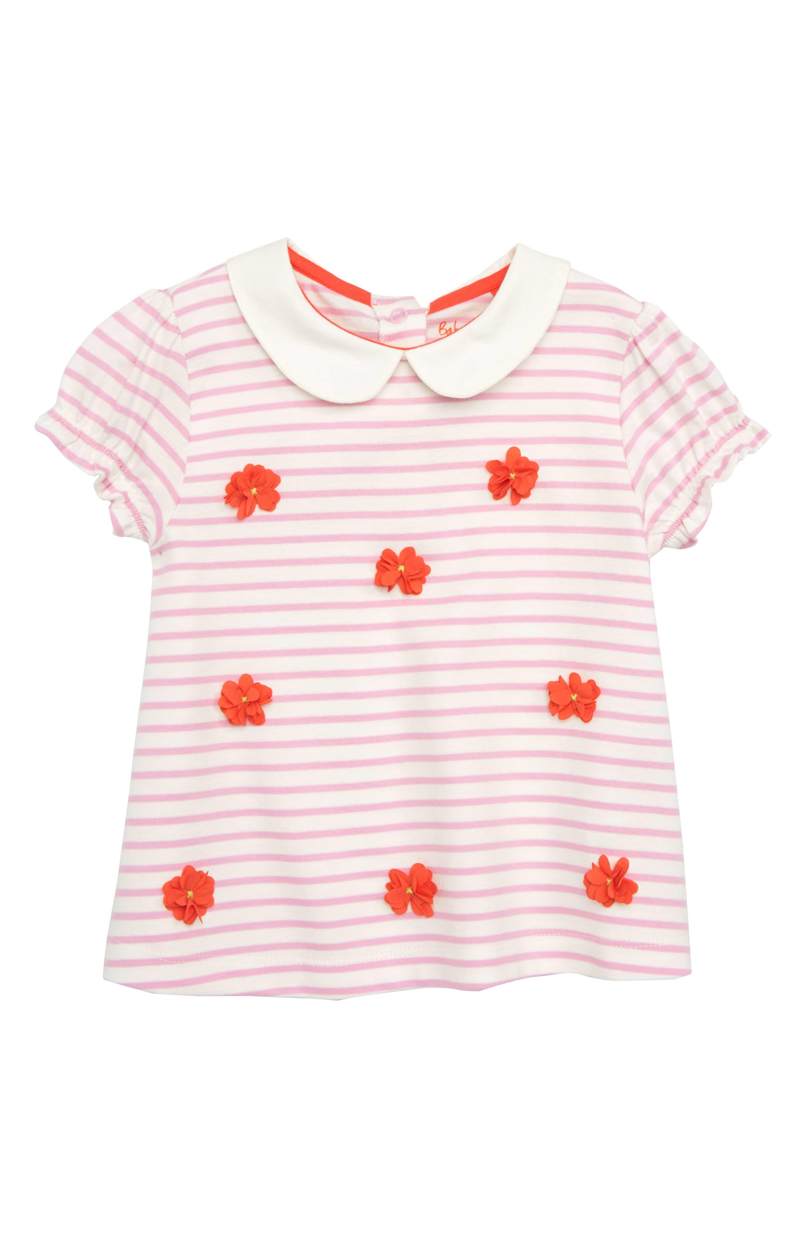 Mini Boden Sweet Collar Shirt (Baby Girls & Toddler Girls)