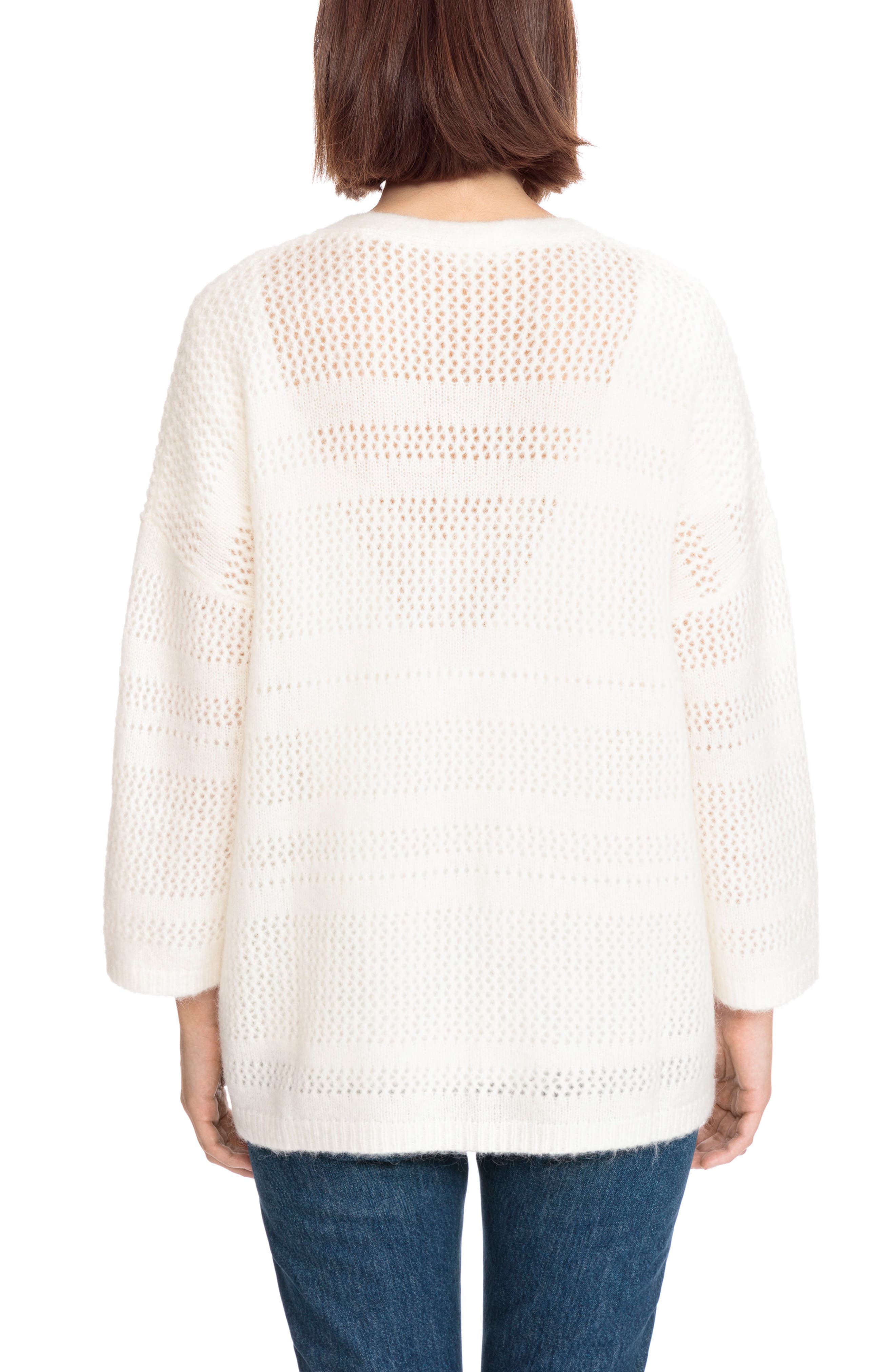 Firmin Cardigan,                             Alternate thumbnail 3, color,                             Off White