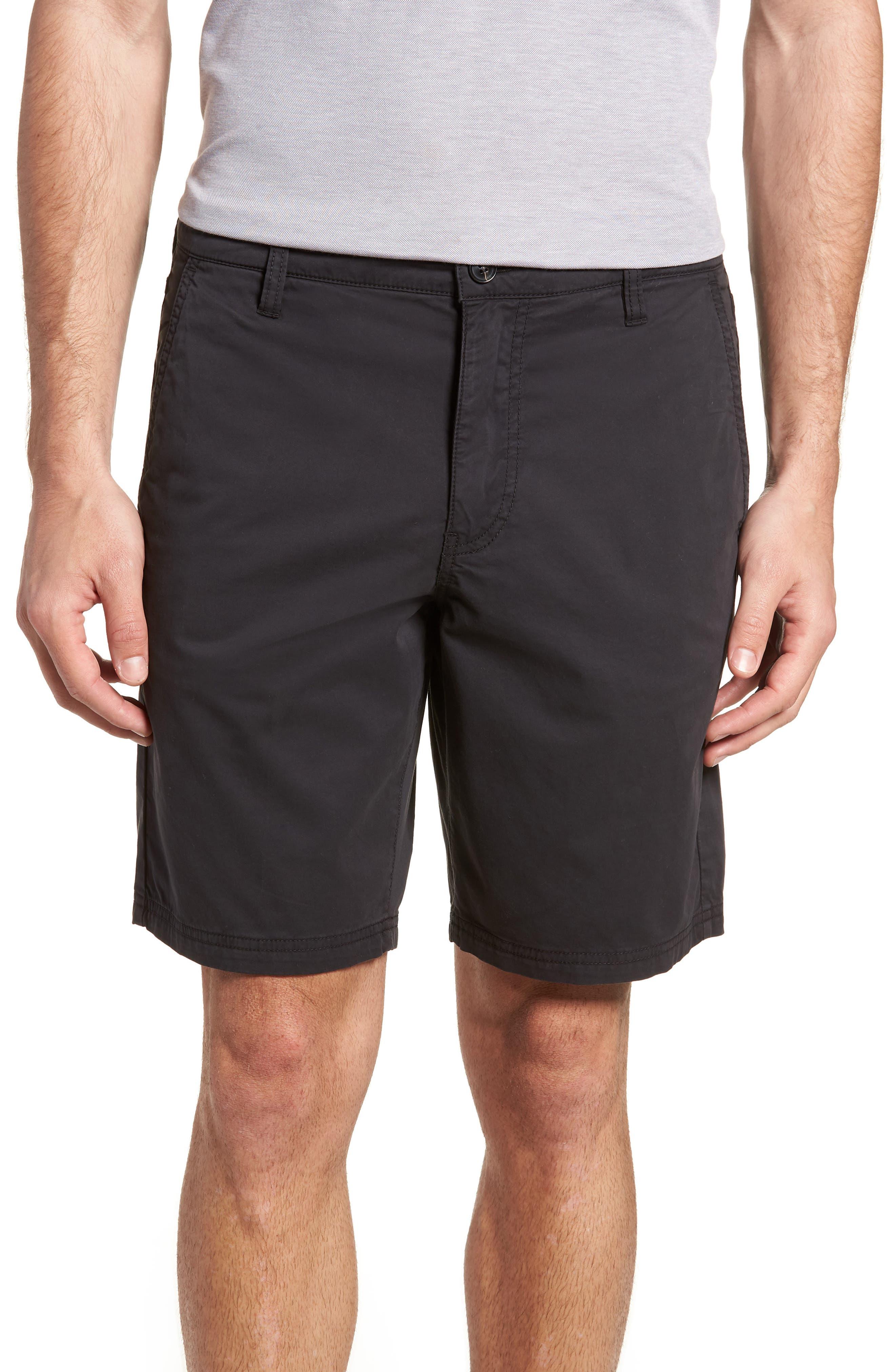 Casual Shorts,                             Main thumbnail 1, color,                             Black