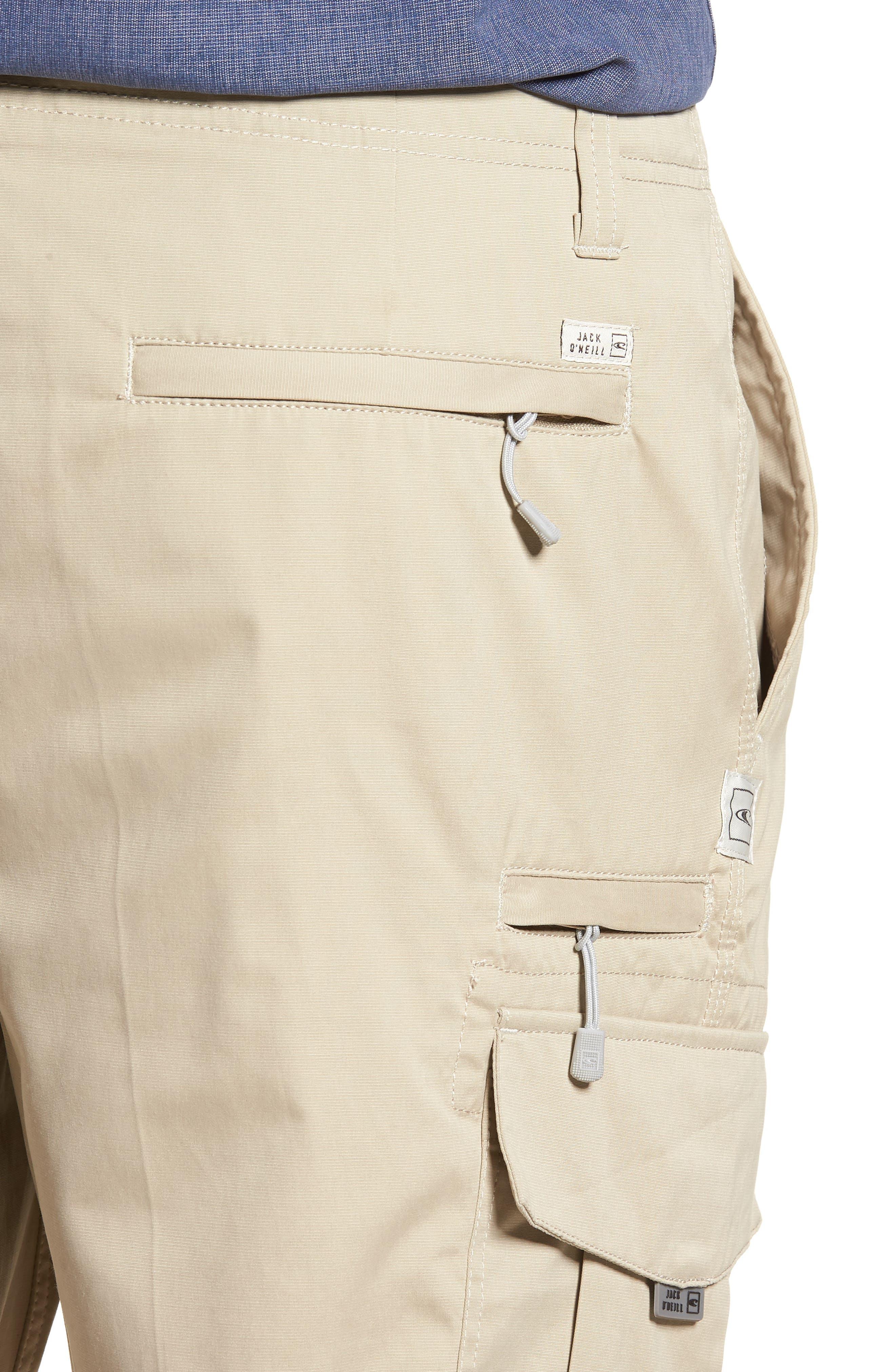 Landmark Cargo Shorts,                             Alternate thumbnail 4, color,                             Khaki