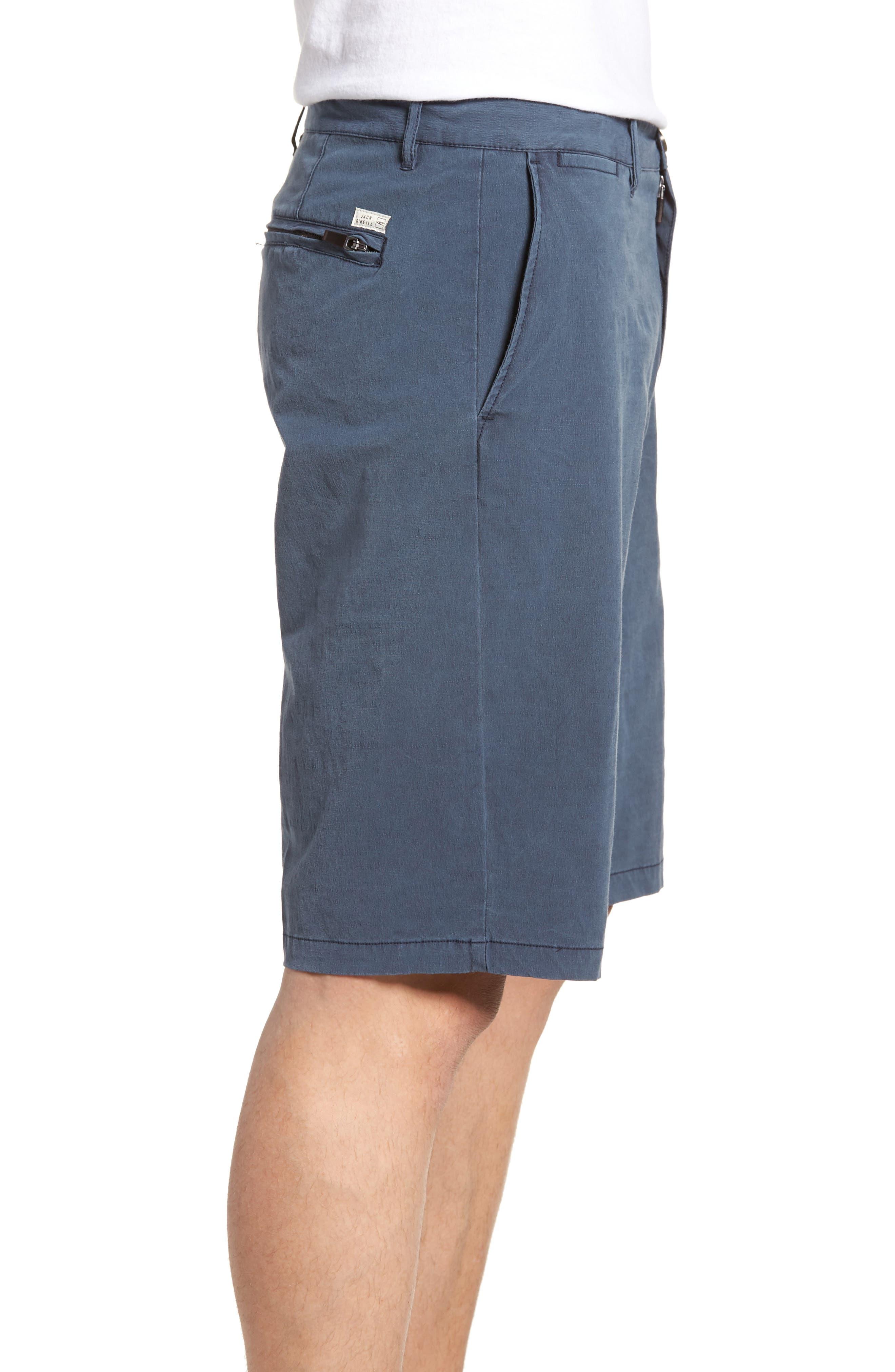 Coast Stretch Board Shorts,                             Alternate thumbnail 3, color,                             Navy