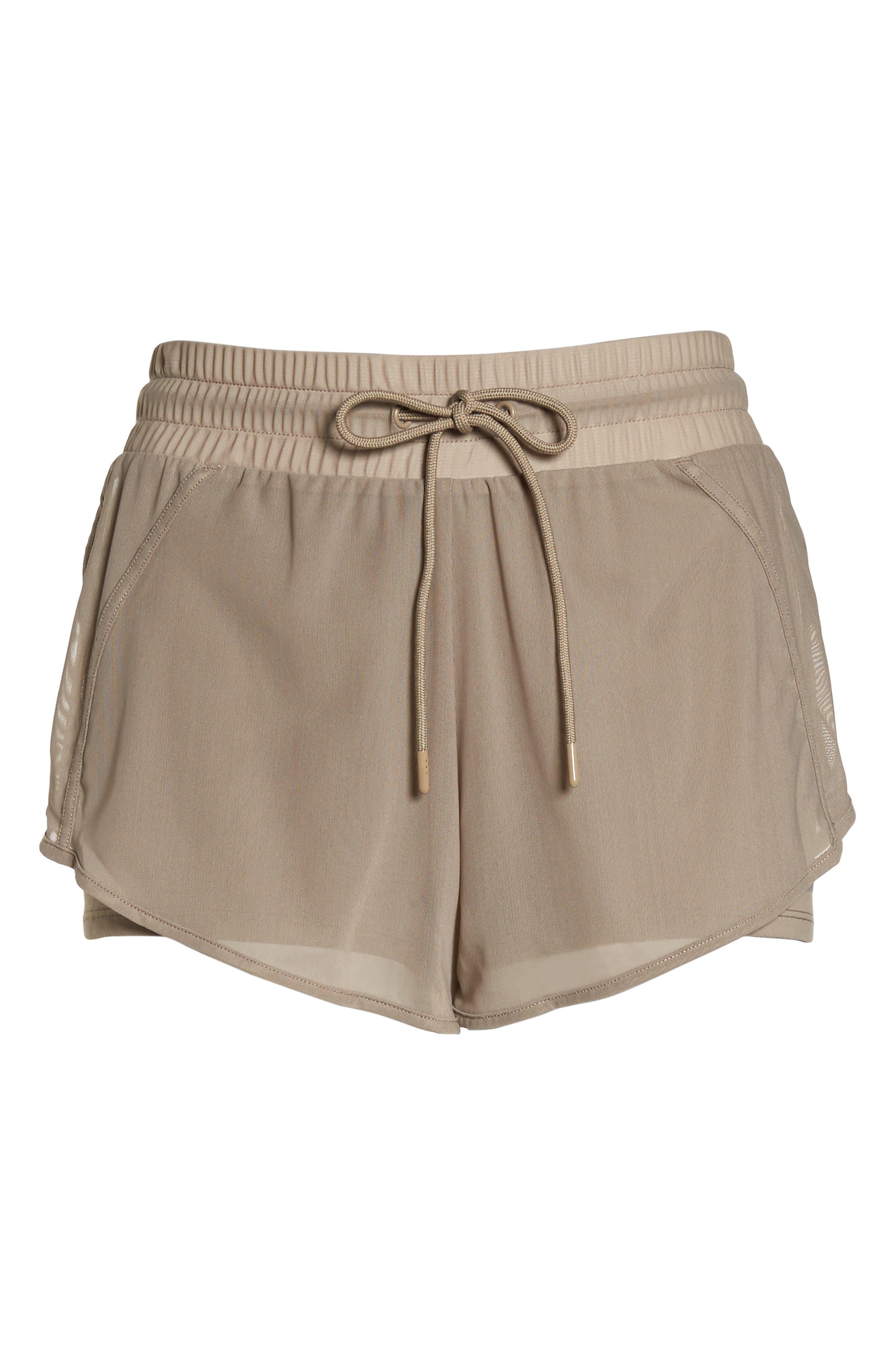 Ambience Shorts,                             Alternate thumbnail 7, color,                             Gravel