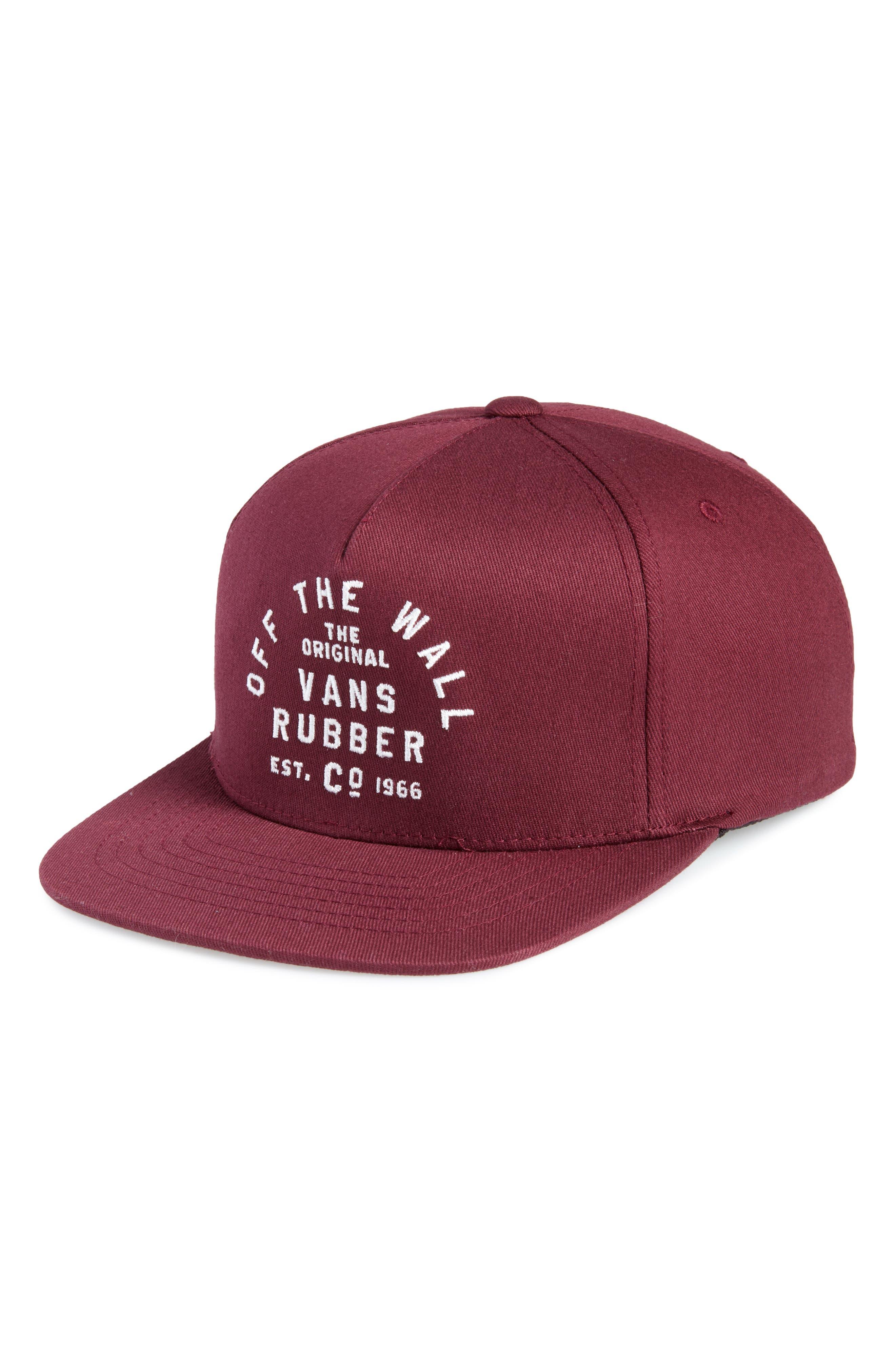 Vans Rubber Co Flexfit Cap (Big Boys)