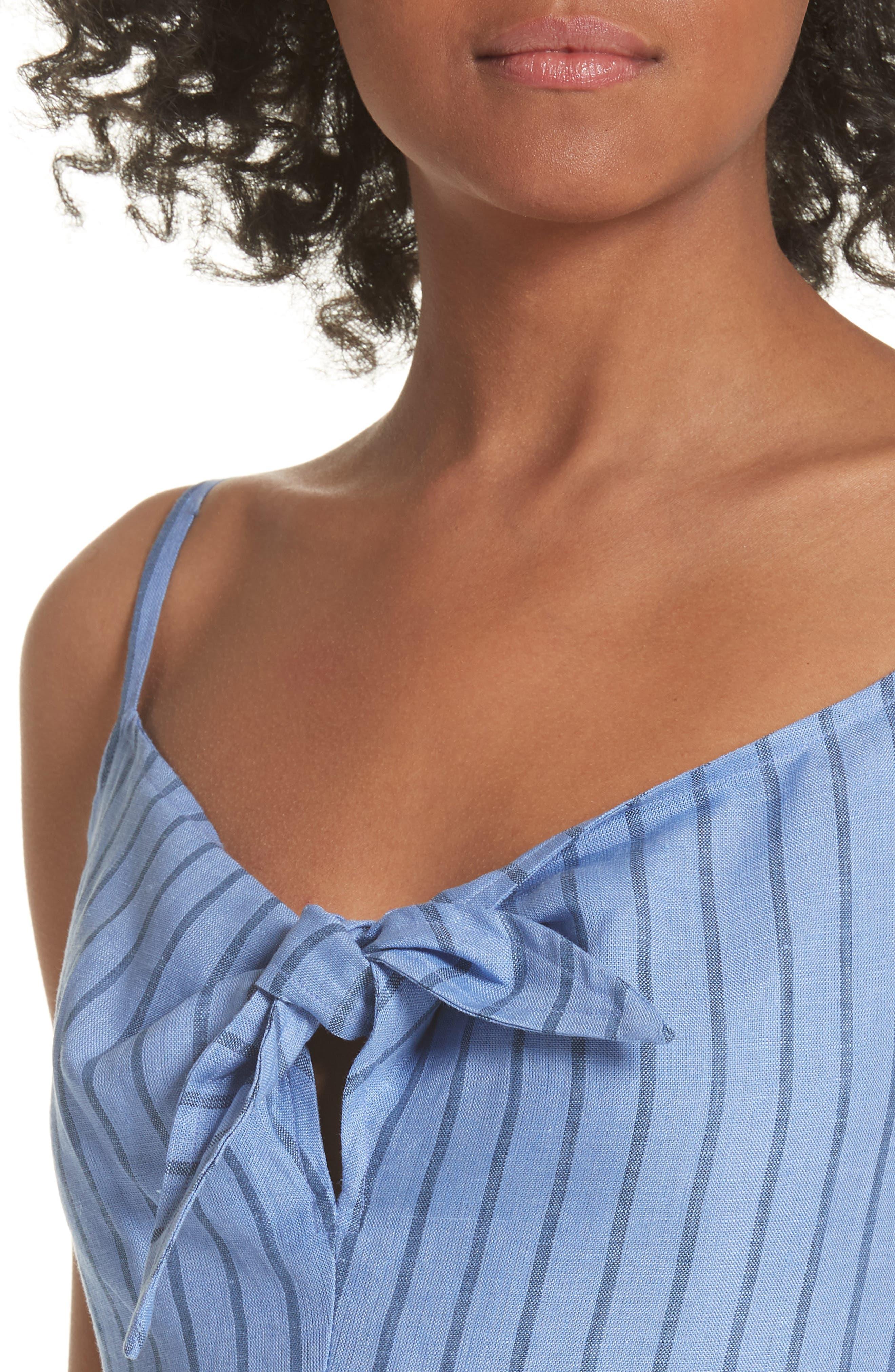 Alternate Image 4  - Simon Miller Oriska Stripe Linen Slipdress