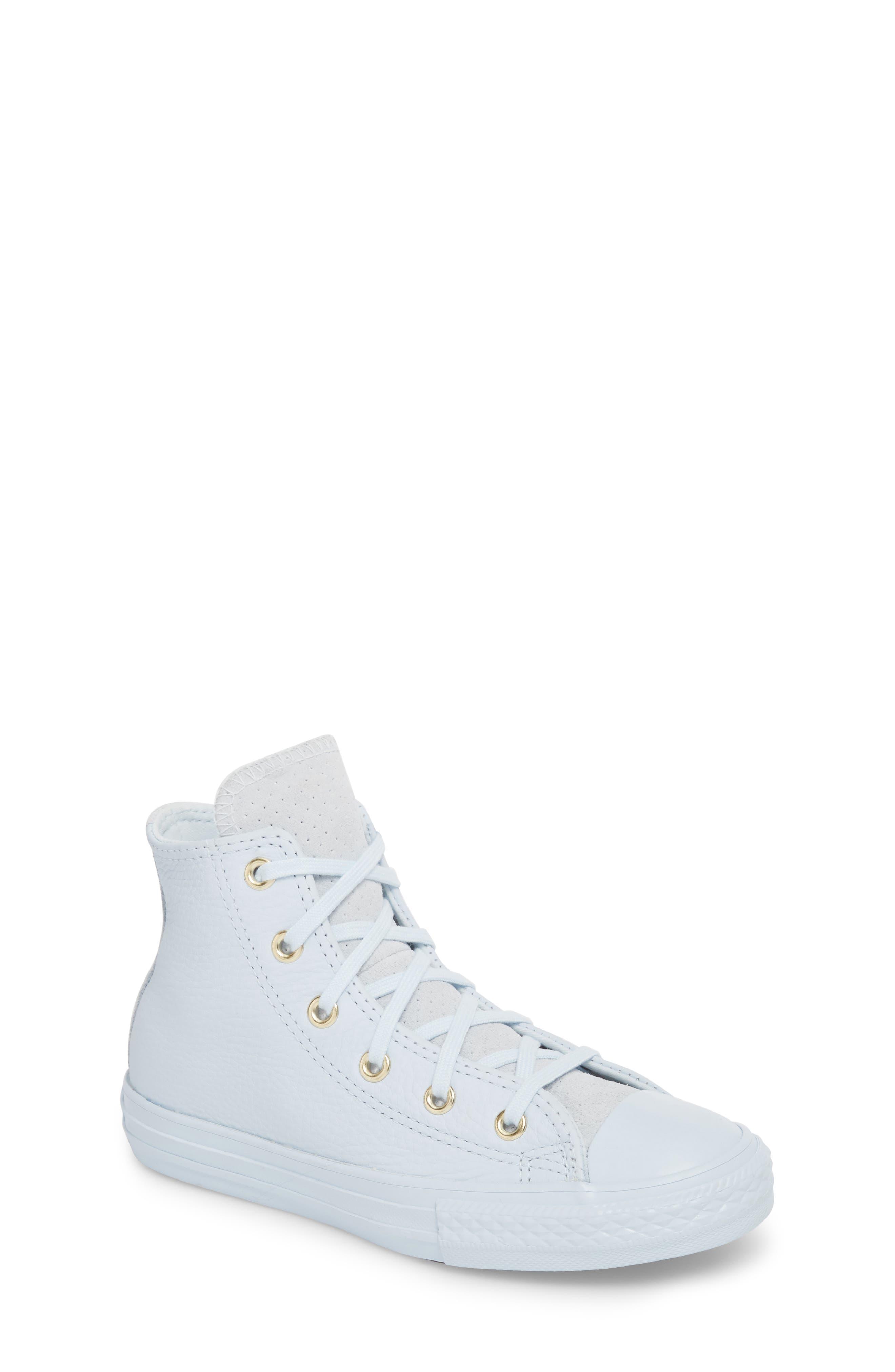 Chuck Taylor<sup>®</sup> All Star<sup>®</sup> Mono High Top Sneaker,                             Main thumbnail 1, color,                             Blue Tint