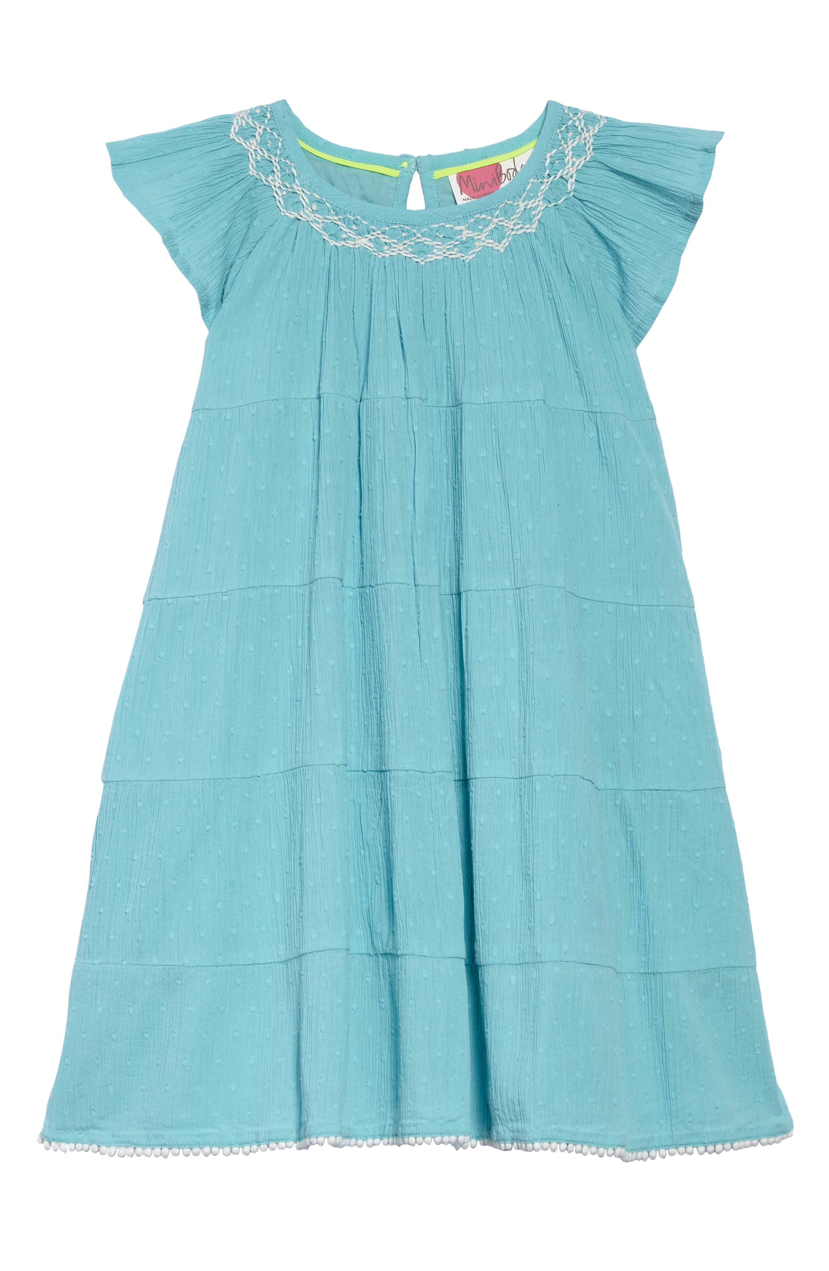 Twirly Dress,                             Main thumbnail 1, color,                             Camper Blue Blu