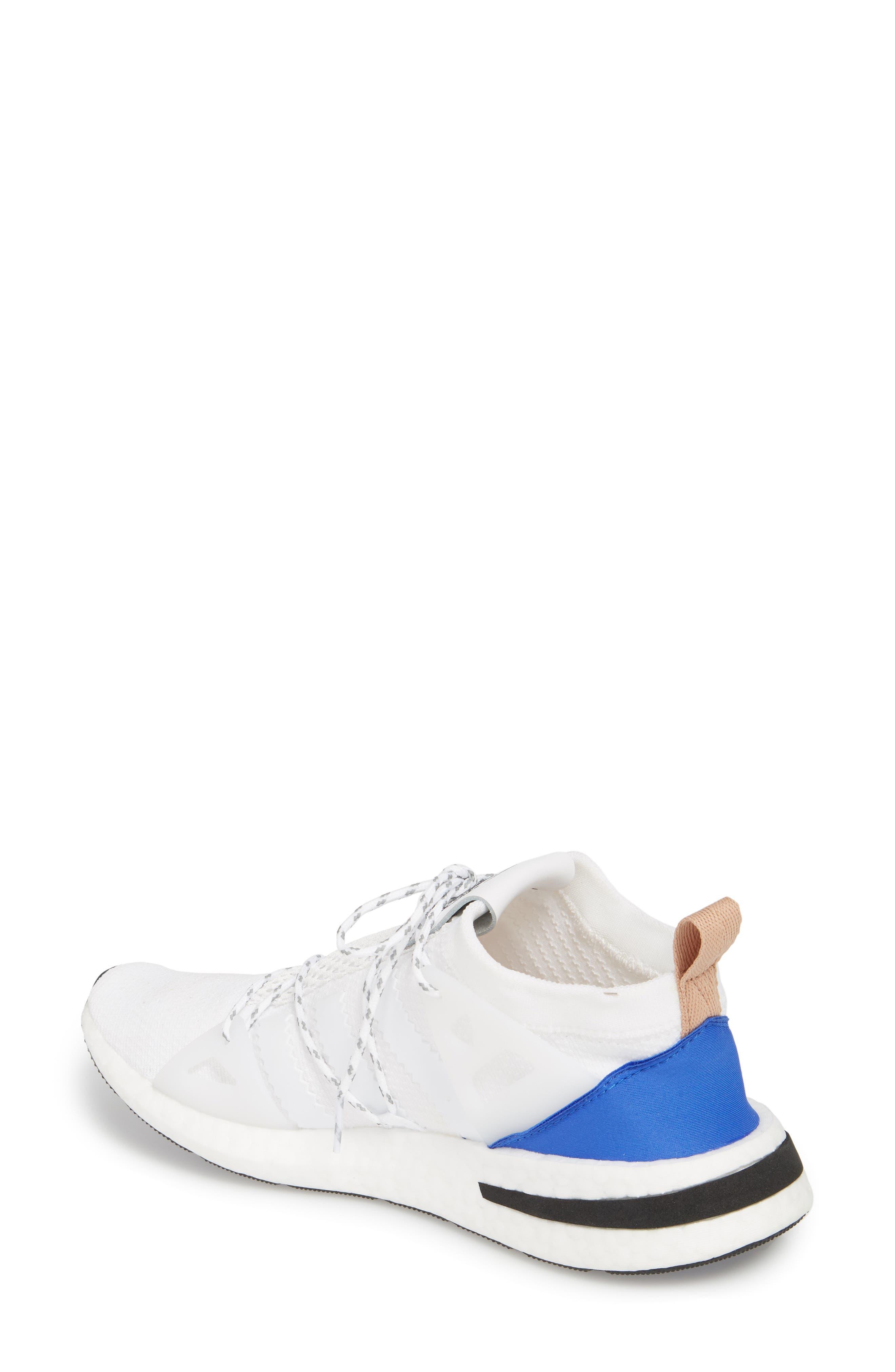Arkyn Sneaker,                             Alternate thumbnail 2, color,                             White/ White/ Ash Pearl