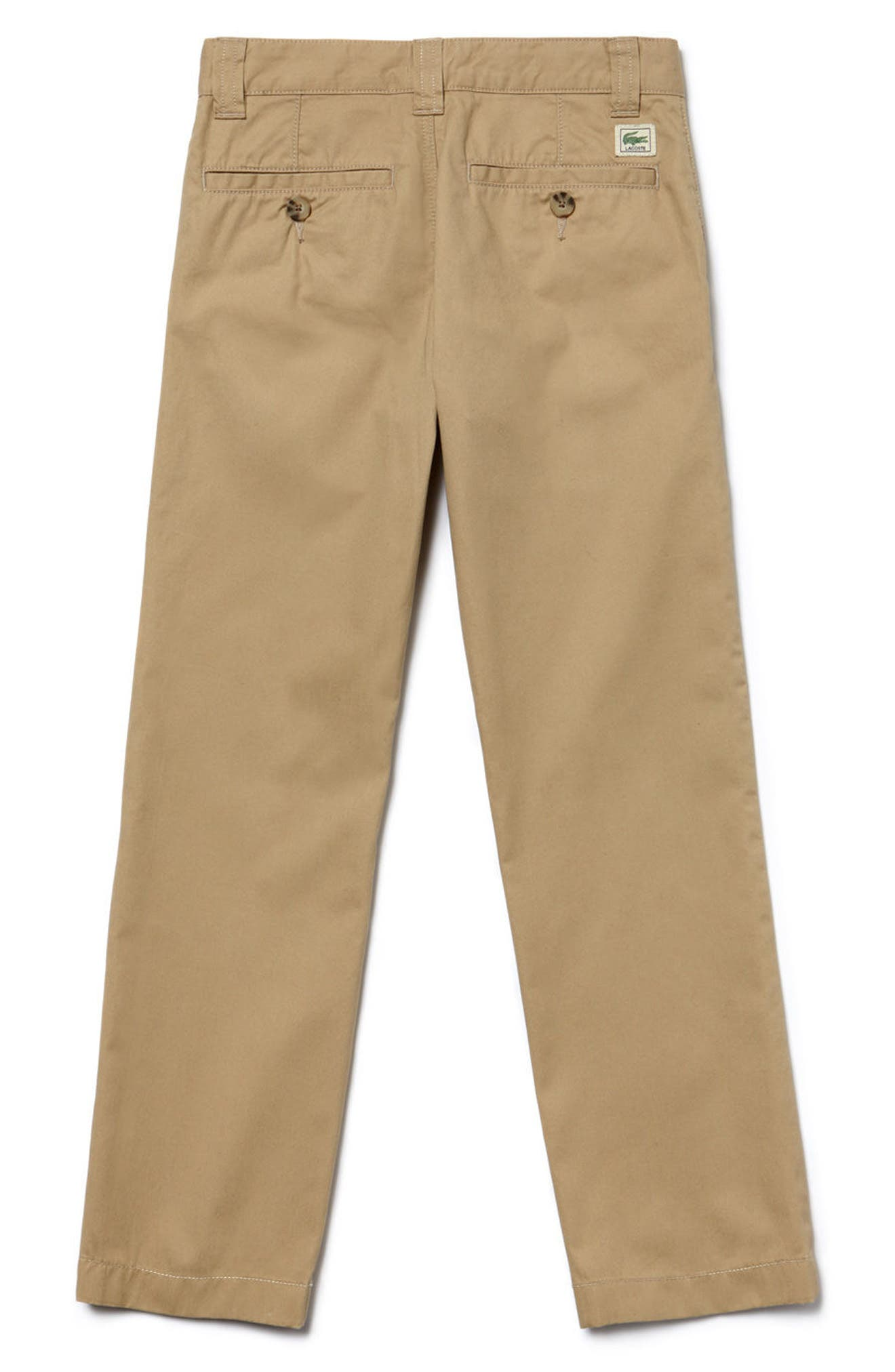 Alternate Image 2  - Lacoste Classic Chinos (Little Boys)