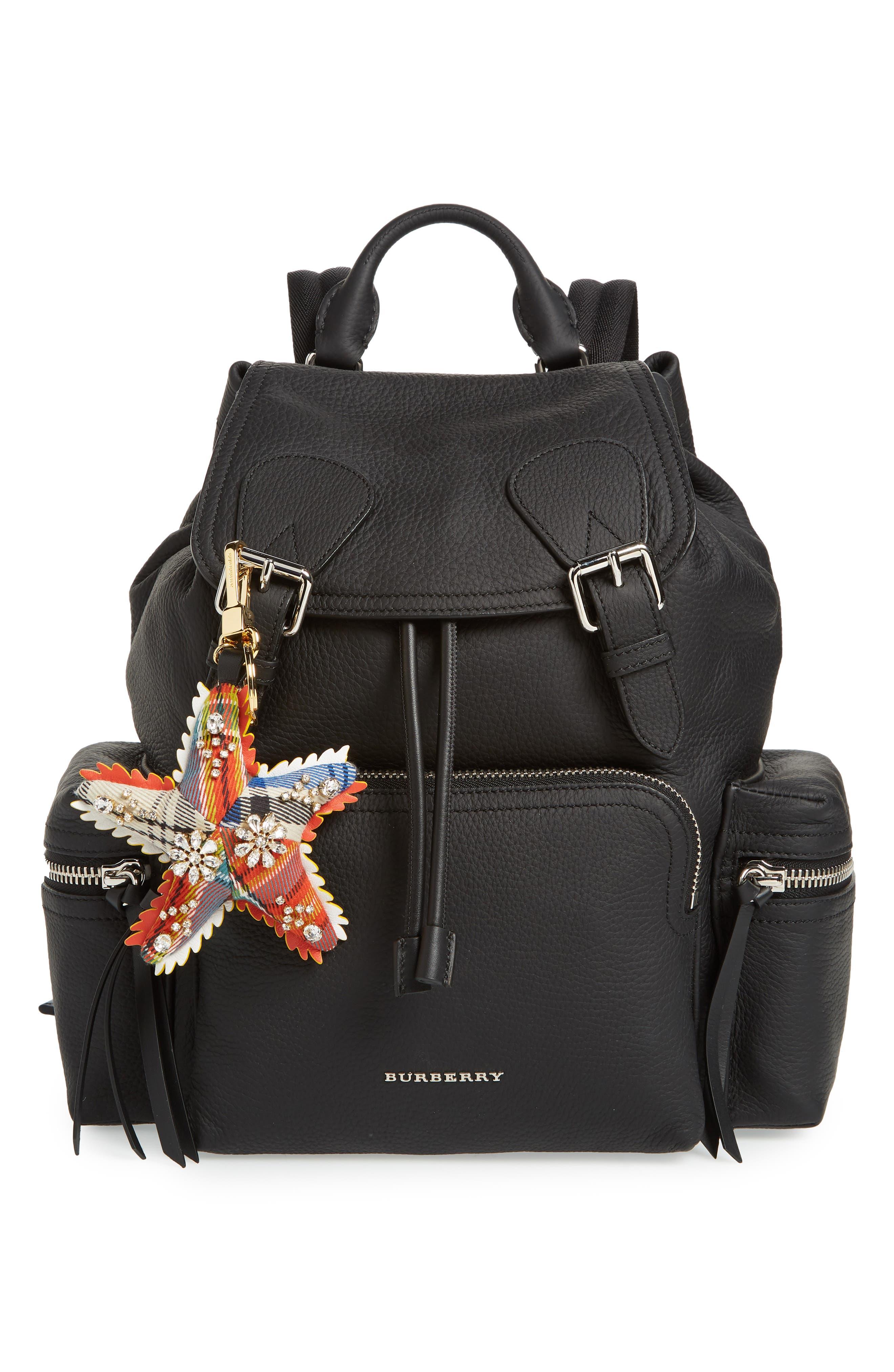 Phil the Starfish Cashmere Bag Charm,                             Alternate thumbnail 2, color,                             Orange Multi
