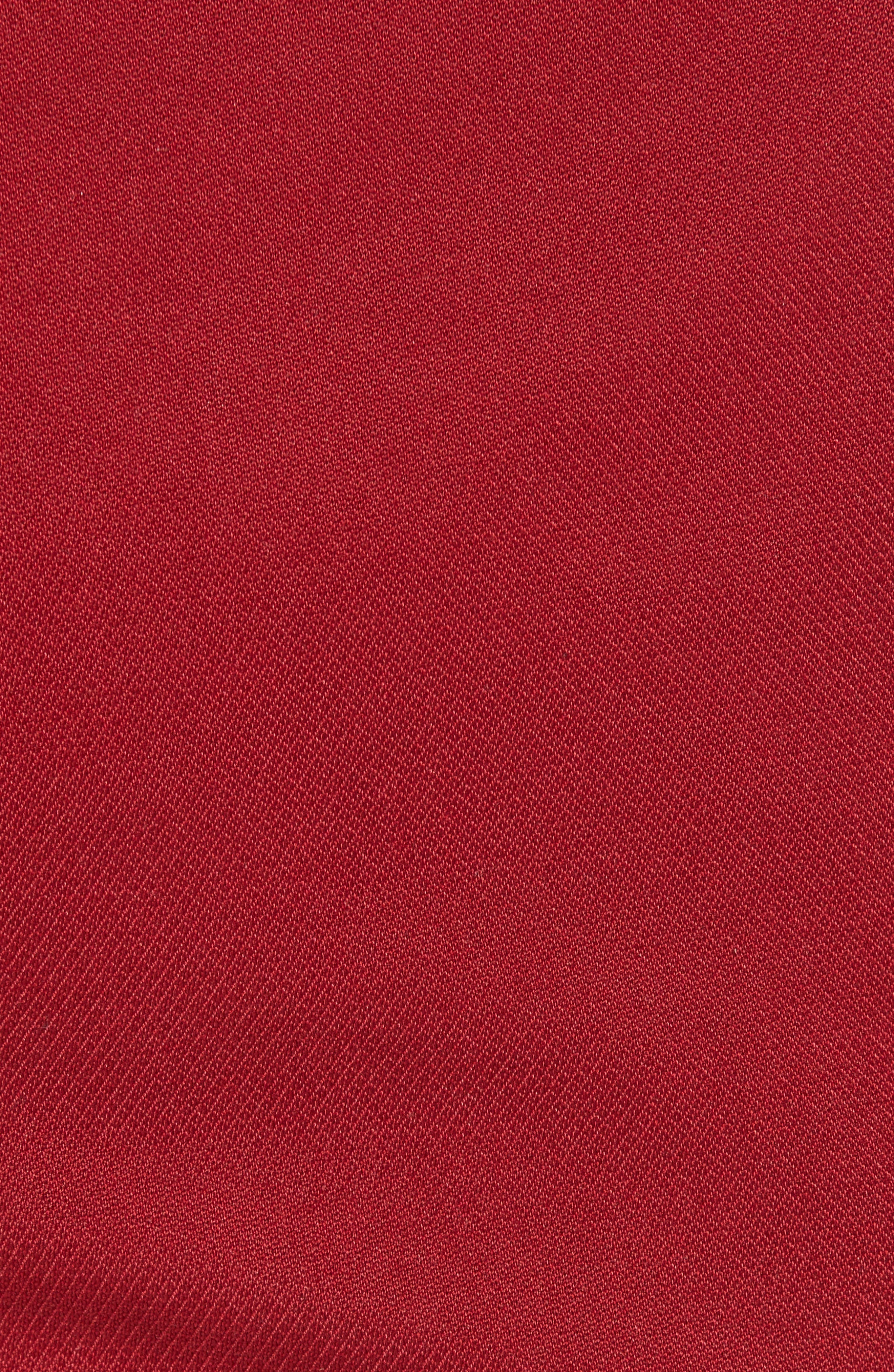 Skinny Fit Suit Trousers,                             Alternate thumbnail 5, color,                             Red