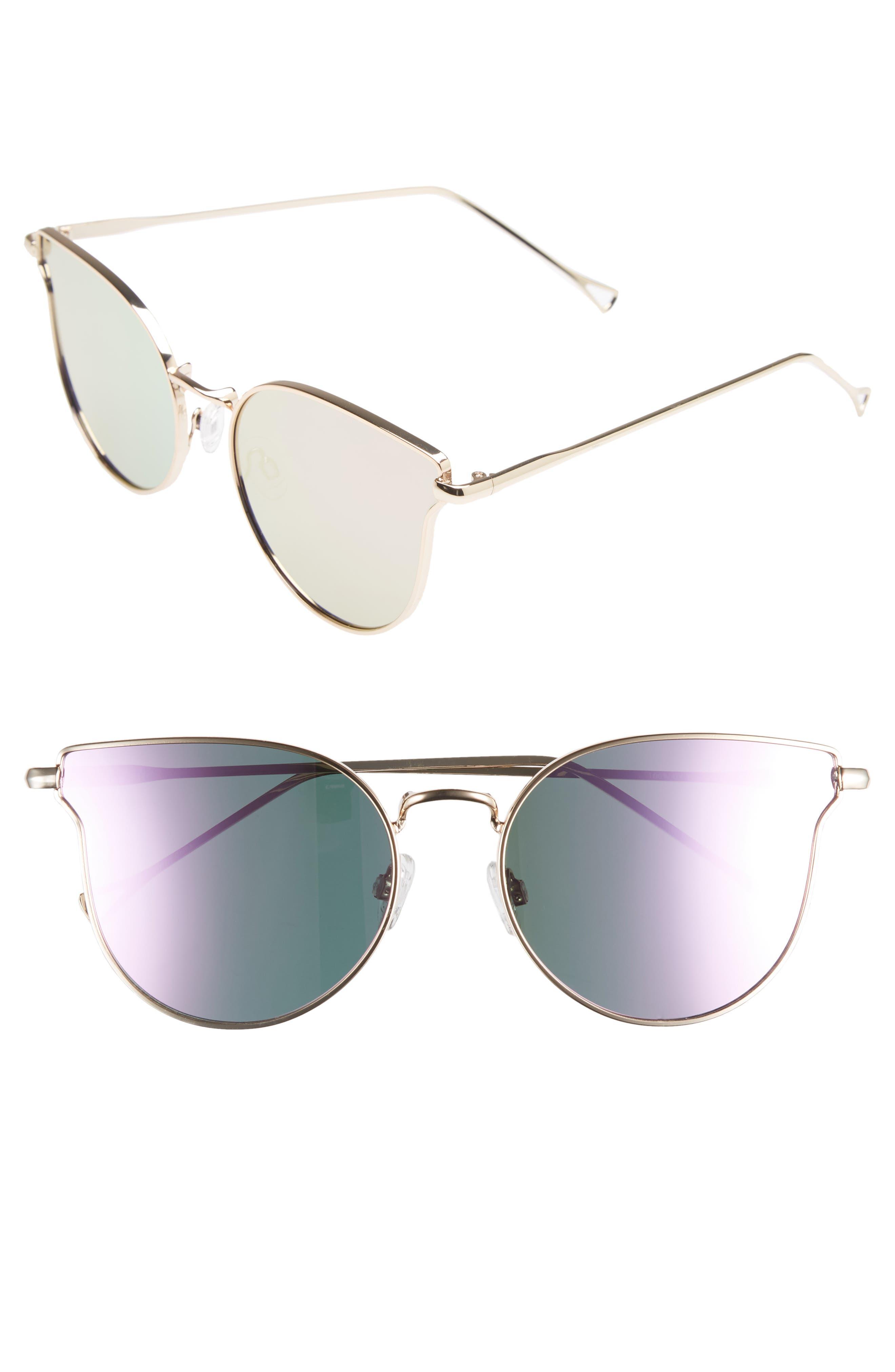 Leith 56mm Cat Eye Sunglasses