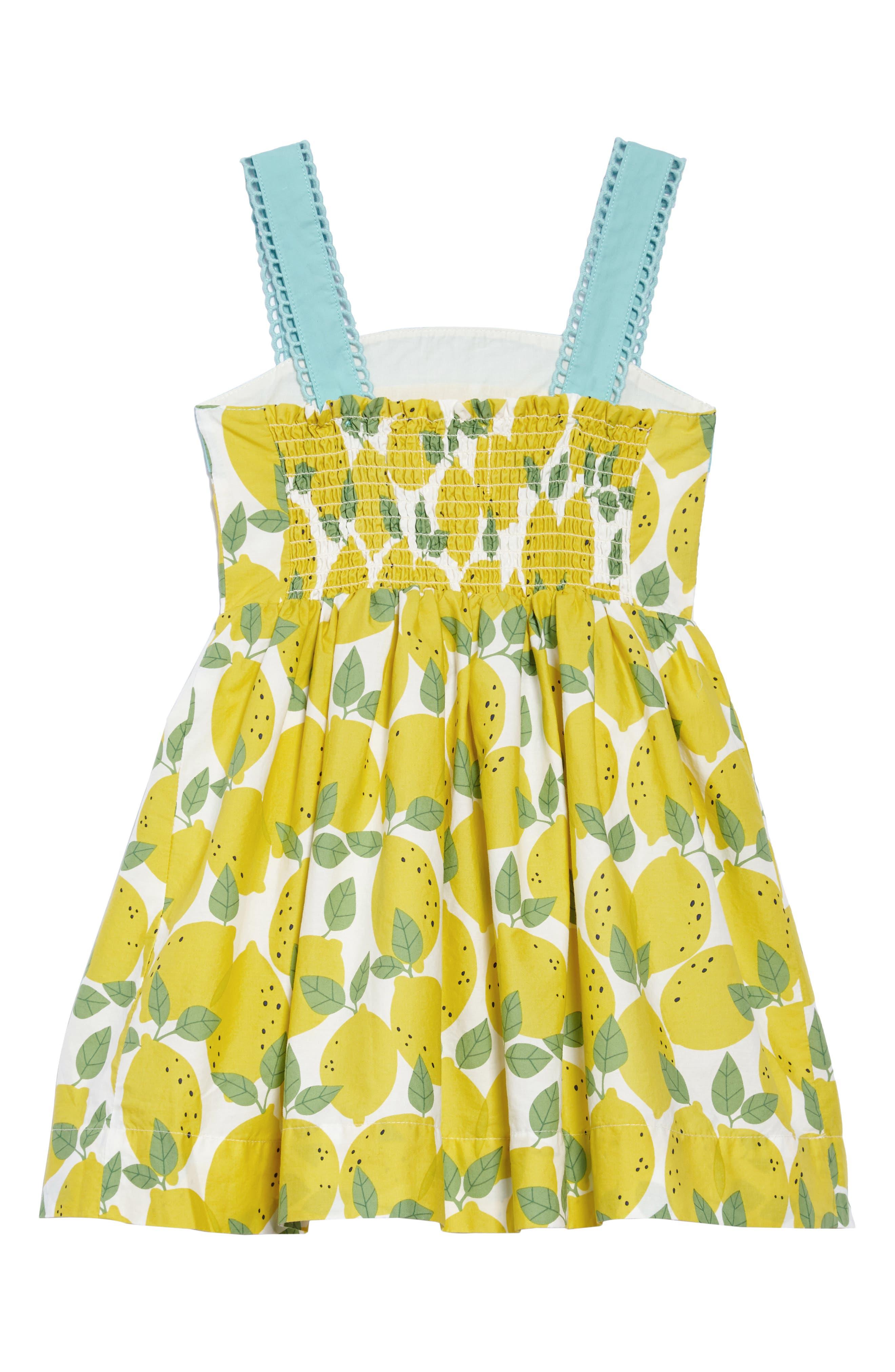 Alternate Image 2  - Mini Boden Fifties Summer Dress (Toddler Girls, Little Girls & Big Girls)