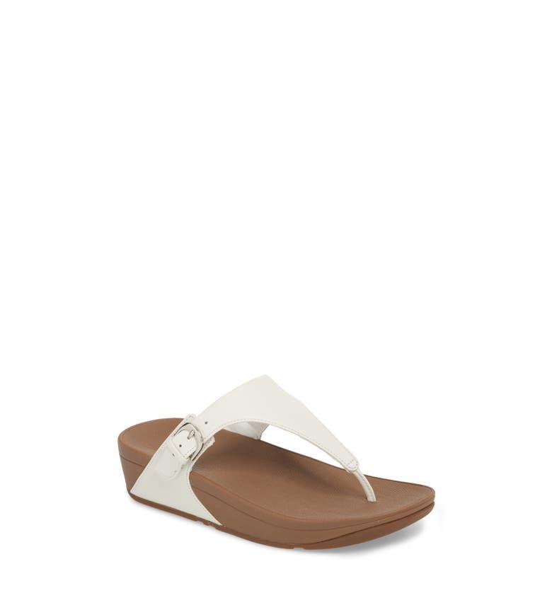 ed33299dfd91b Fitflop Skinny Sandal In Urban White