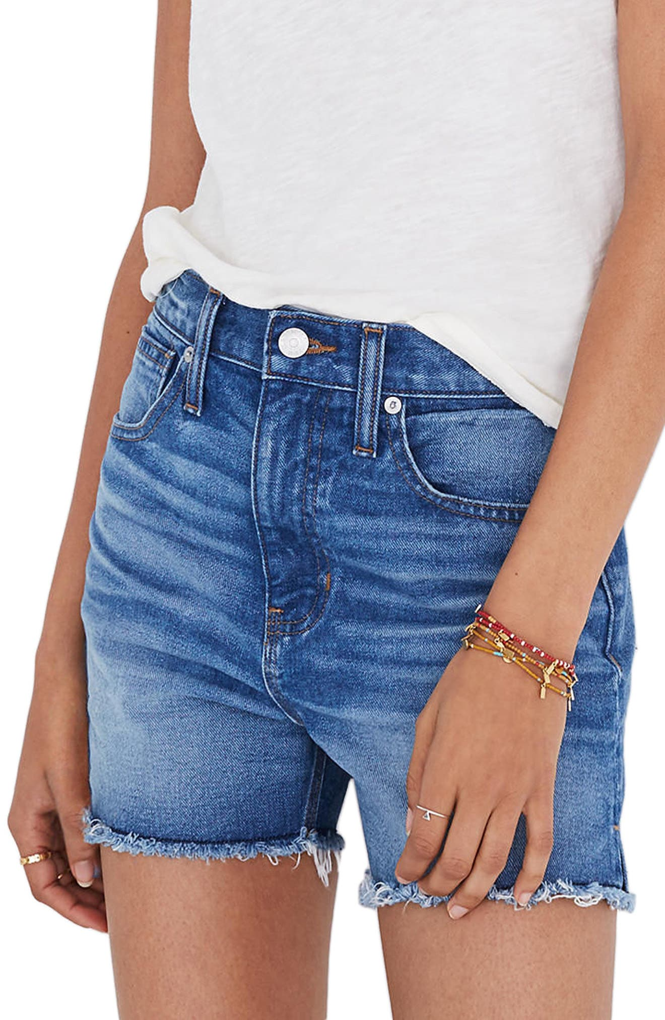 Alternate Image 1 Selected - Madewell The Perfect Jean Shorts (Butler)