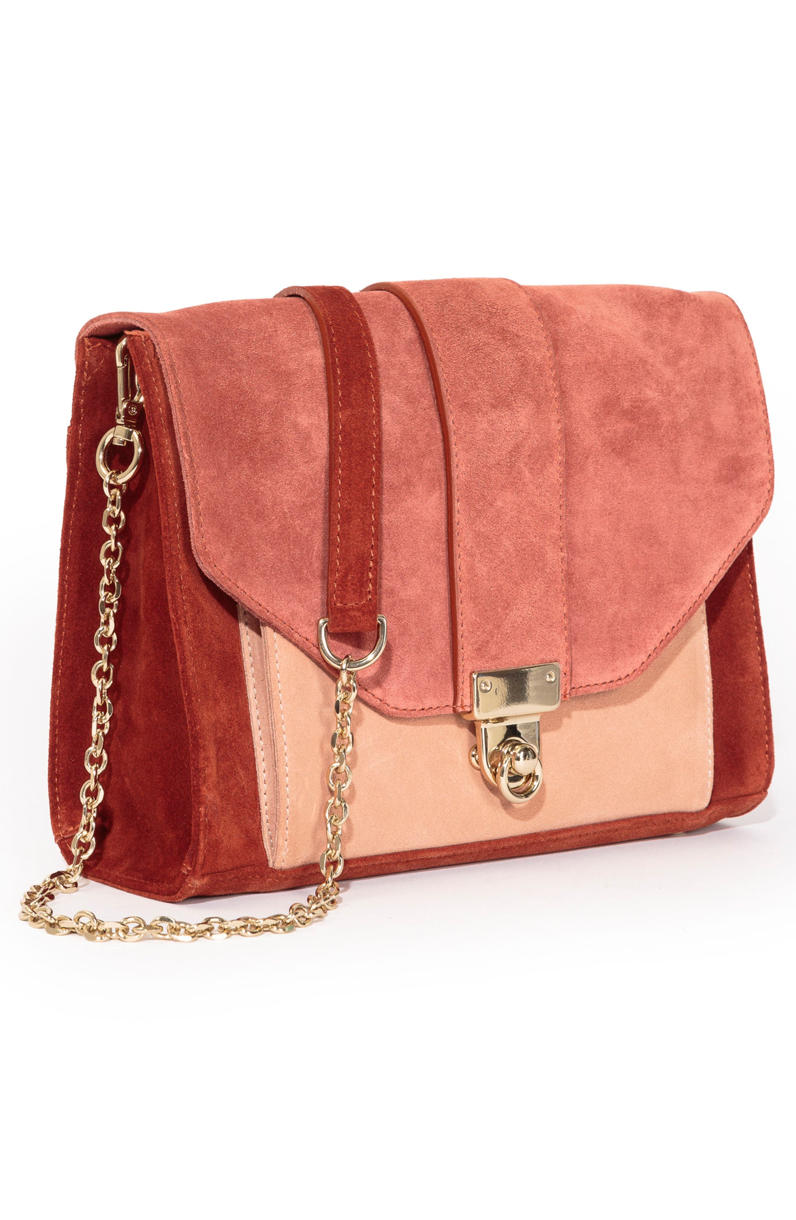 Tiger Crossbody Bag,                             Alternate thumbnail 5, color,                             Terracotta
