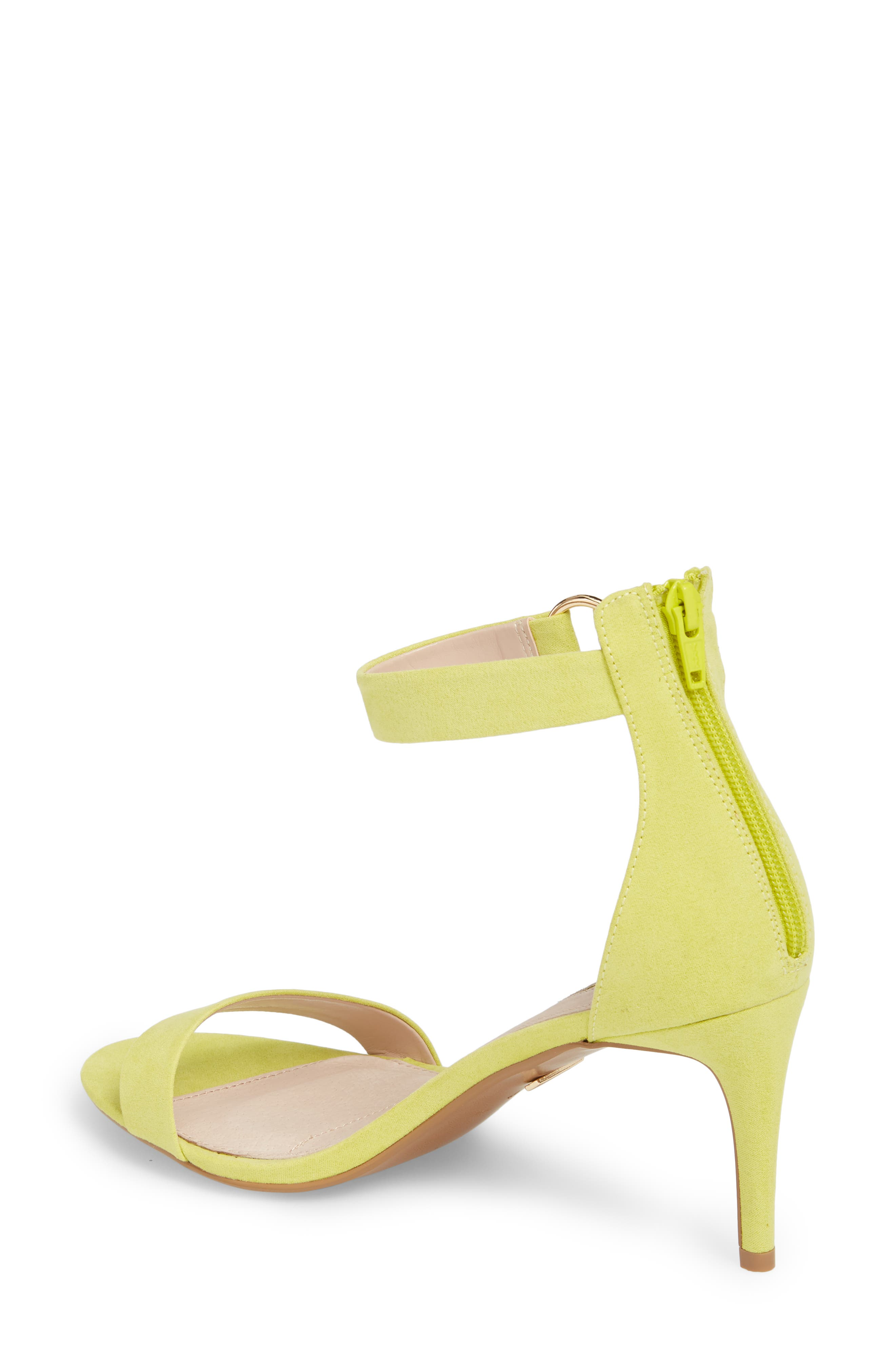 Ringed Sandal,                             Alternate thumbnail 2, color,                             Chartreuse