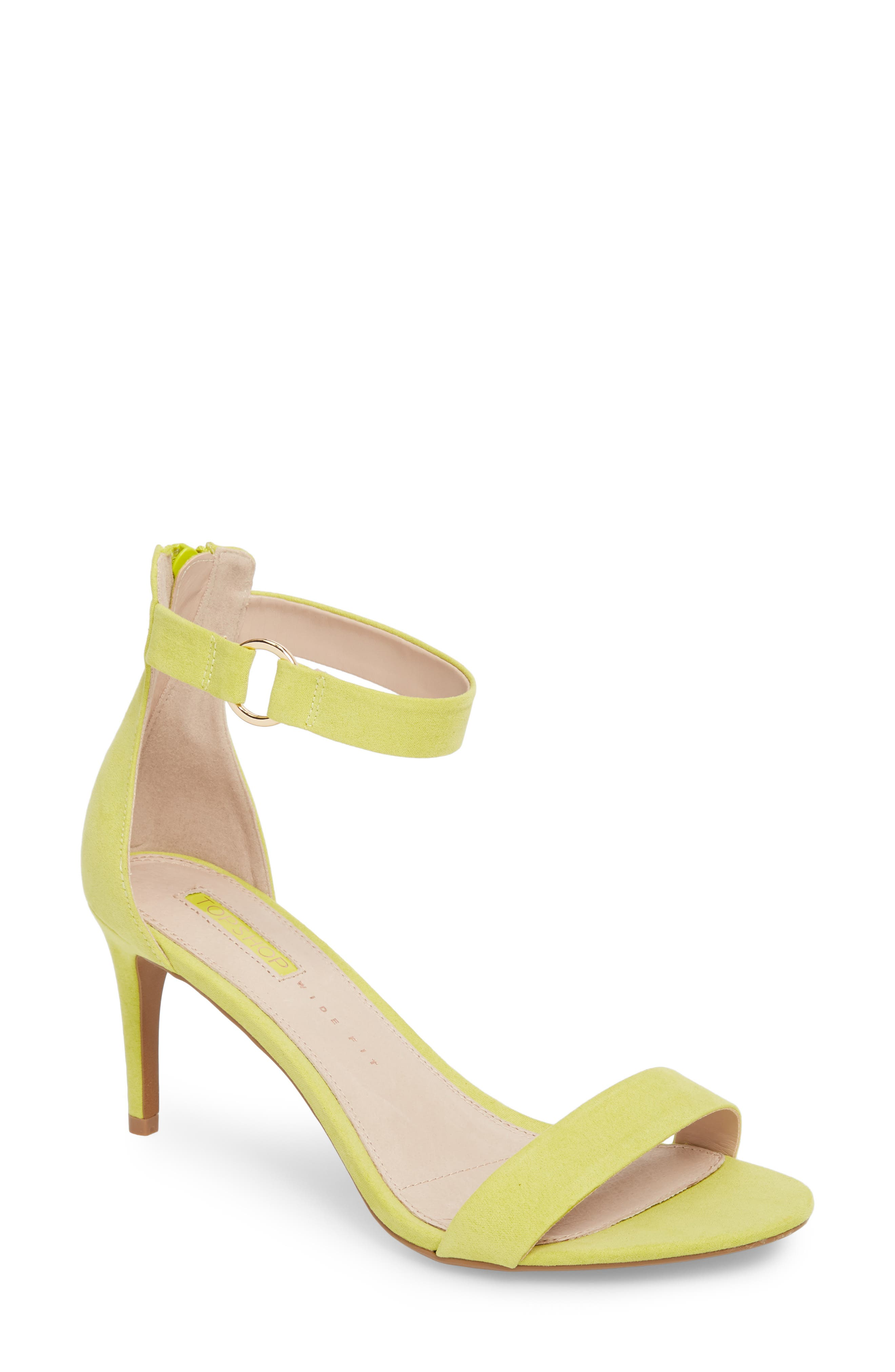Ringed Sandal,                         Main,                         color, Chartreuse