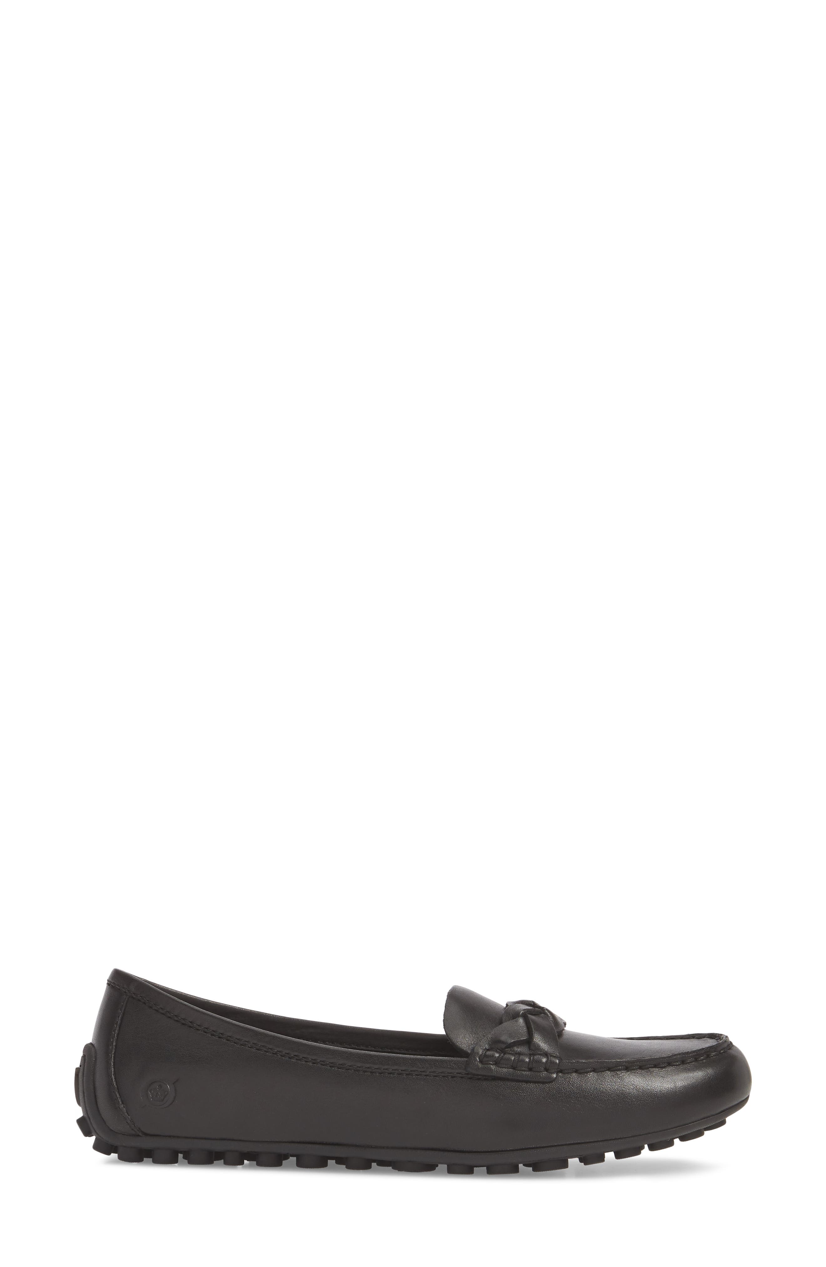 Kasa Loafer,                             Alternate thumbnail 3, color,                             Black Leather