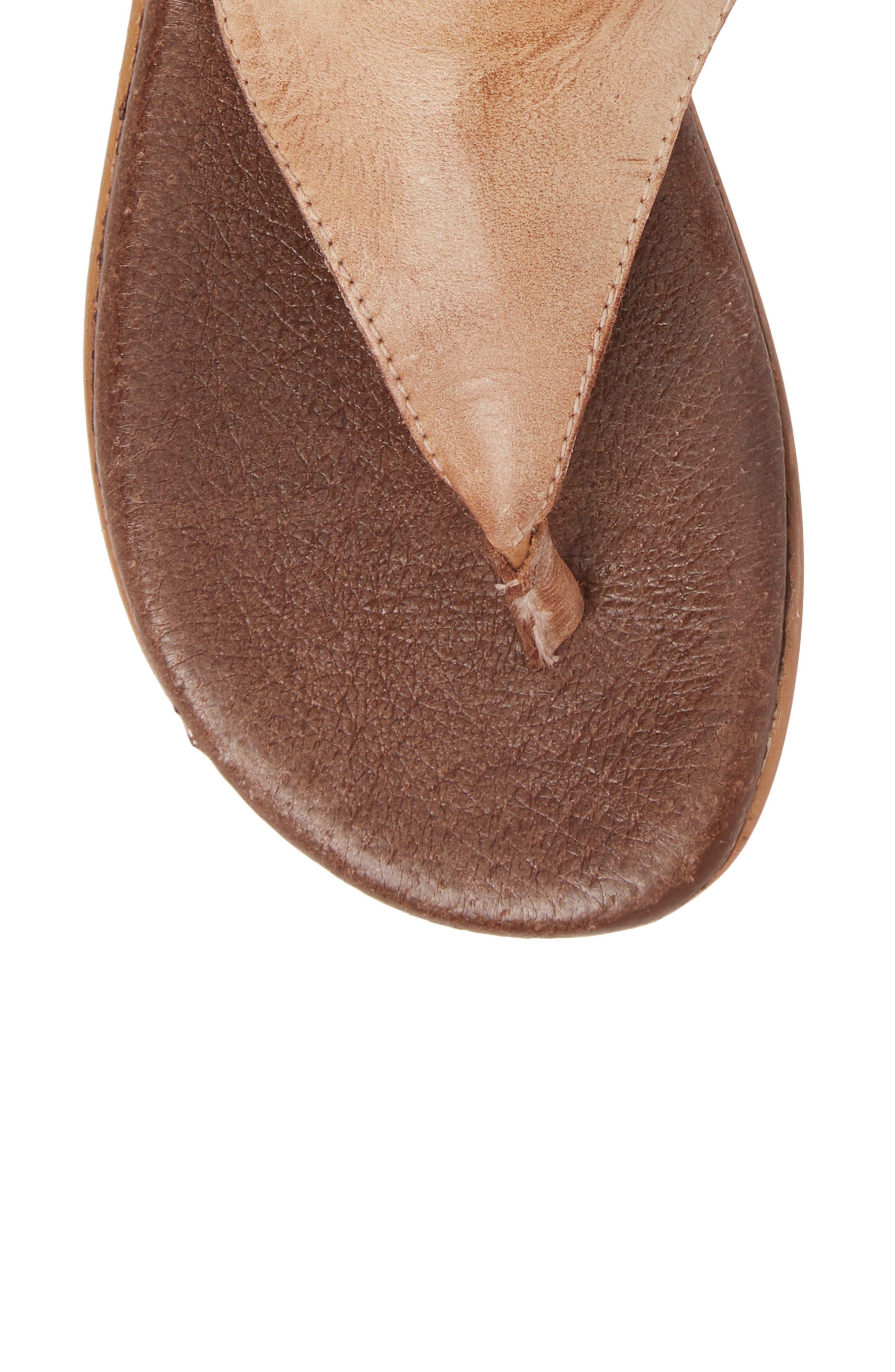 Rosalinda Tall Sandal,                             Alternate thumbnail 5, color,                             Cognac