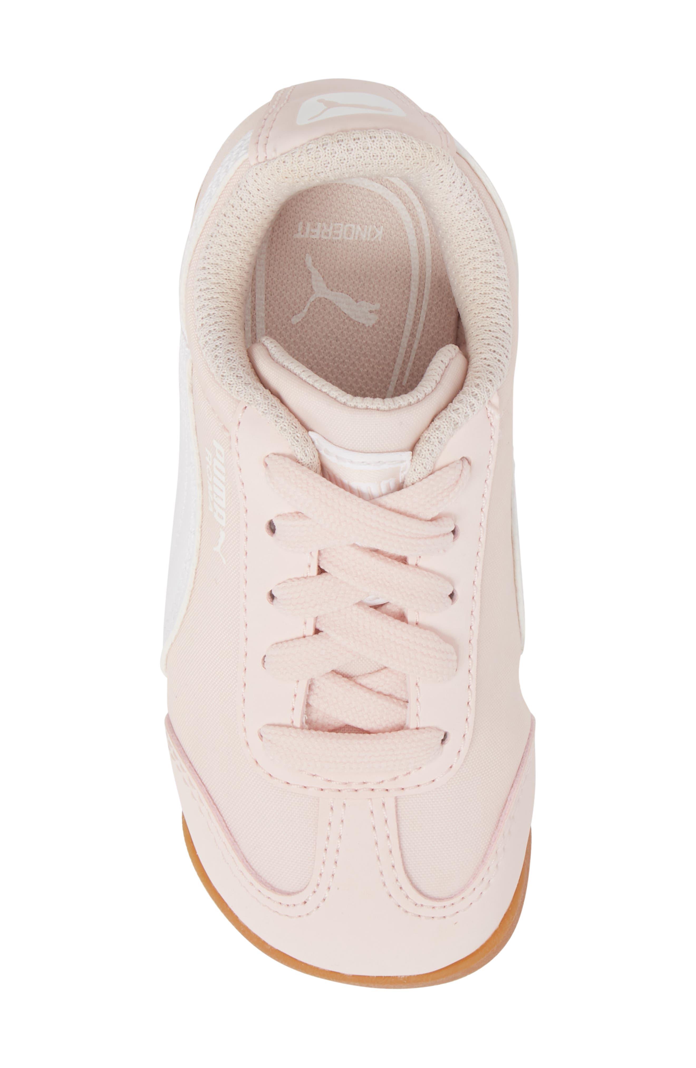 Roma Basic Summer Sneaker,                             Alternate thumbnail 5, color,                             Pearl/ White