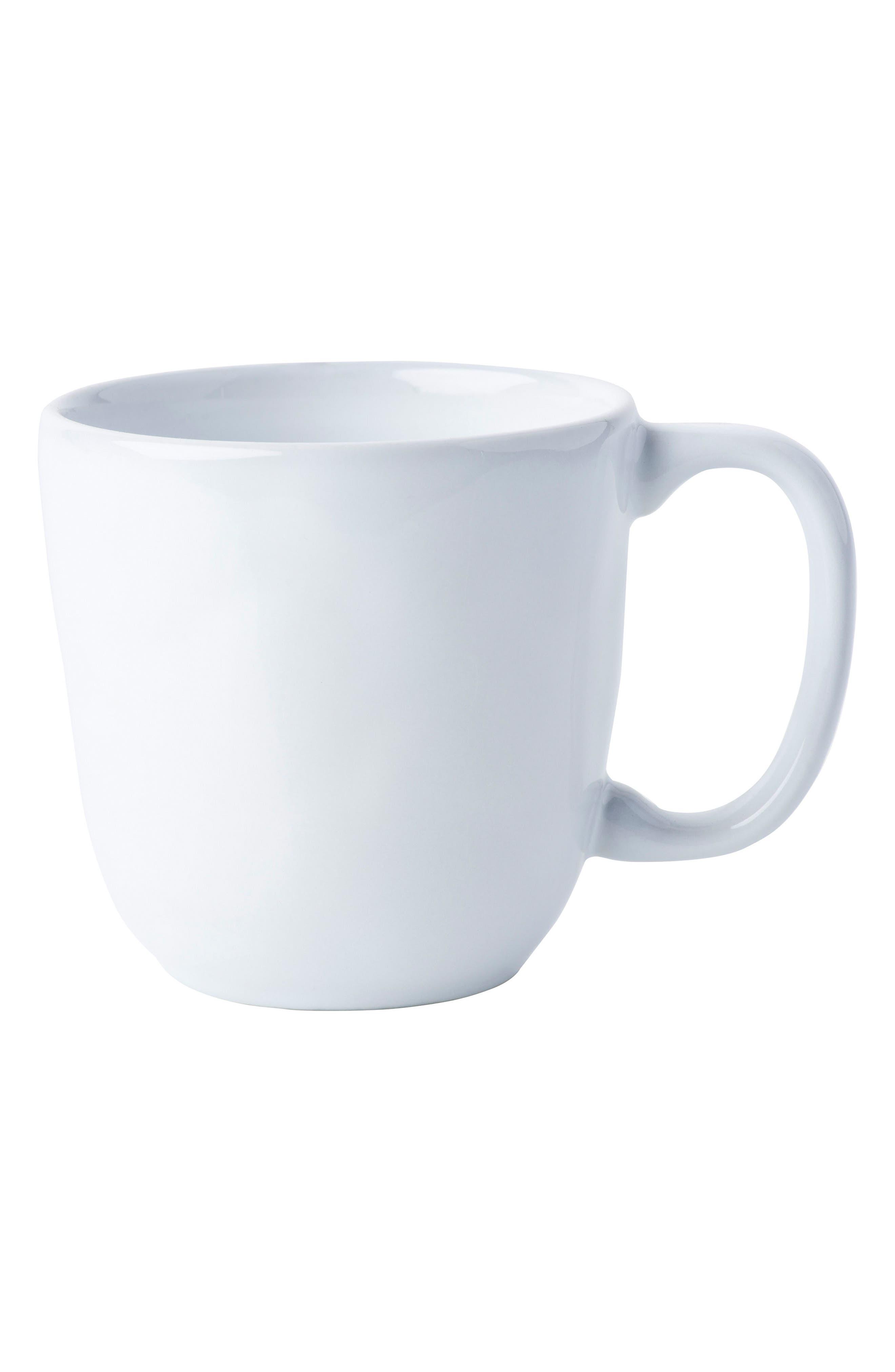 Juliska Quotidien White Truffle Ceramic Mug