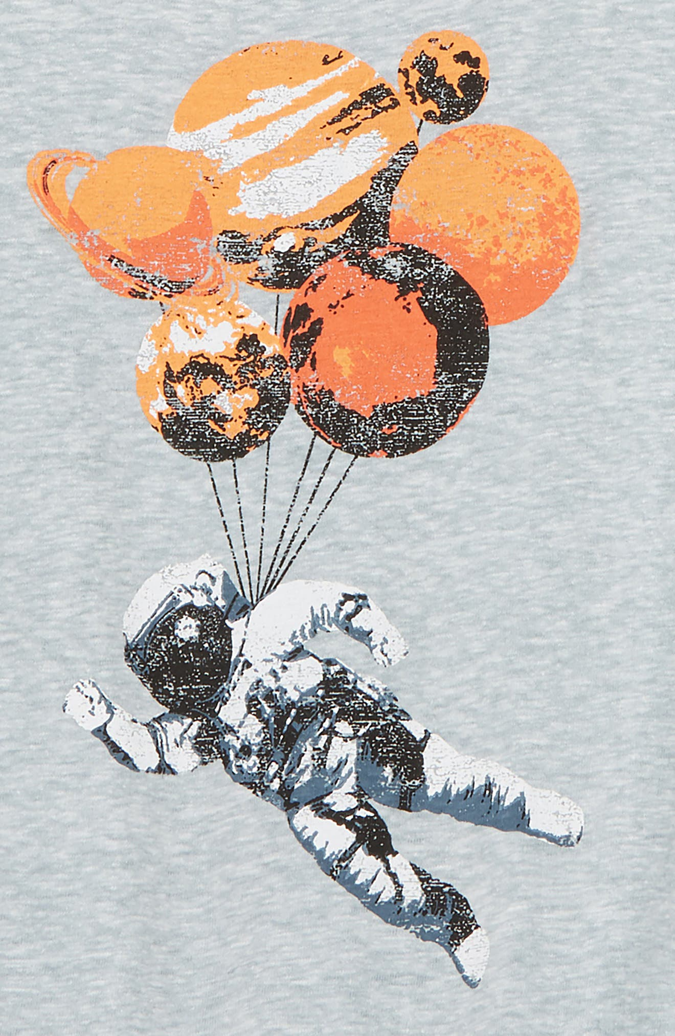 Graphic T-Shirt,                             Alternate thumbnail 2, color,                             Blue Cendre Moon Man