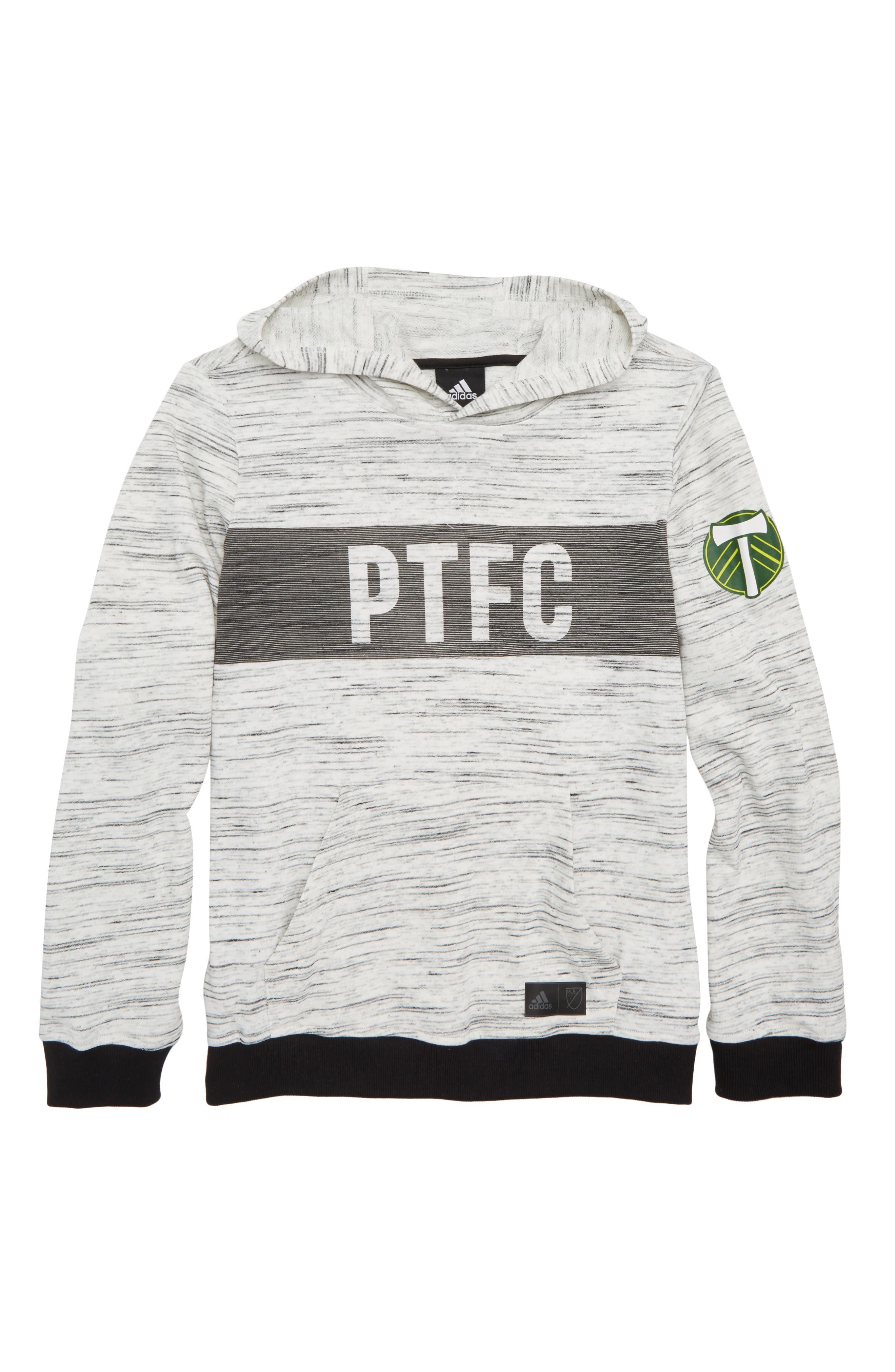 MLS - Portland Timbers Hoodie,                             Main thumbnail 1, color,                             White