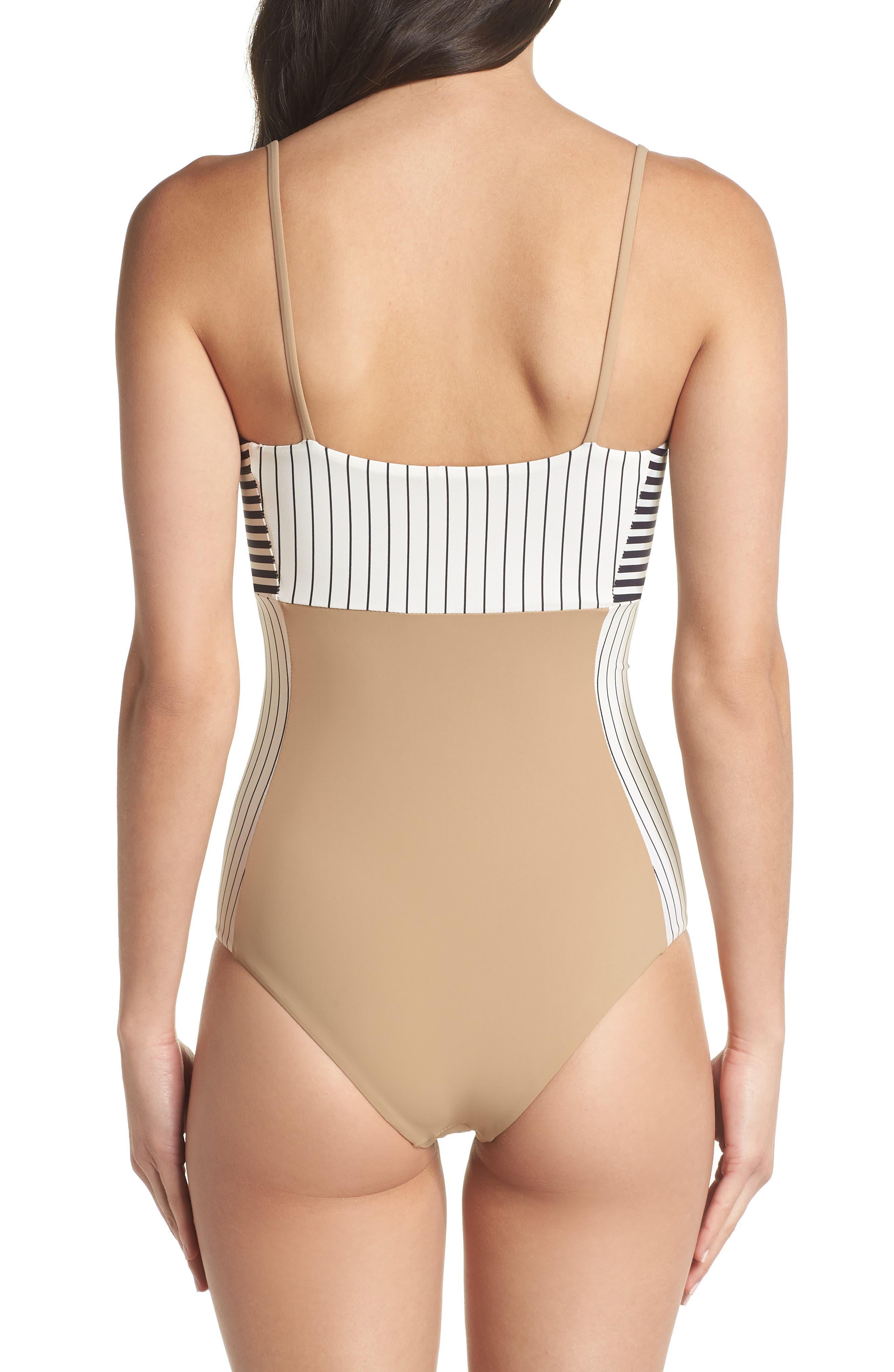 Finn One-Piece Swimsuit,                             Alternate thumbnail 2, color,                             Business Casual