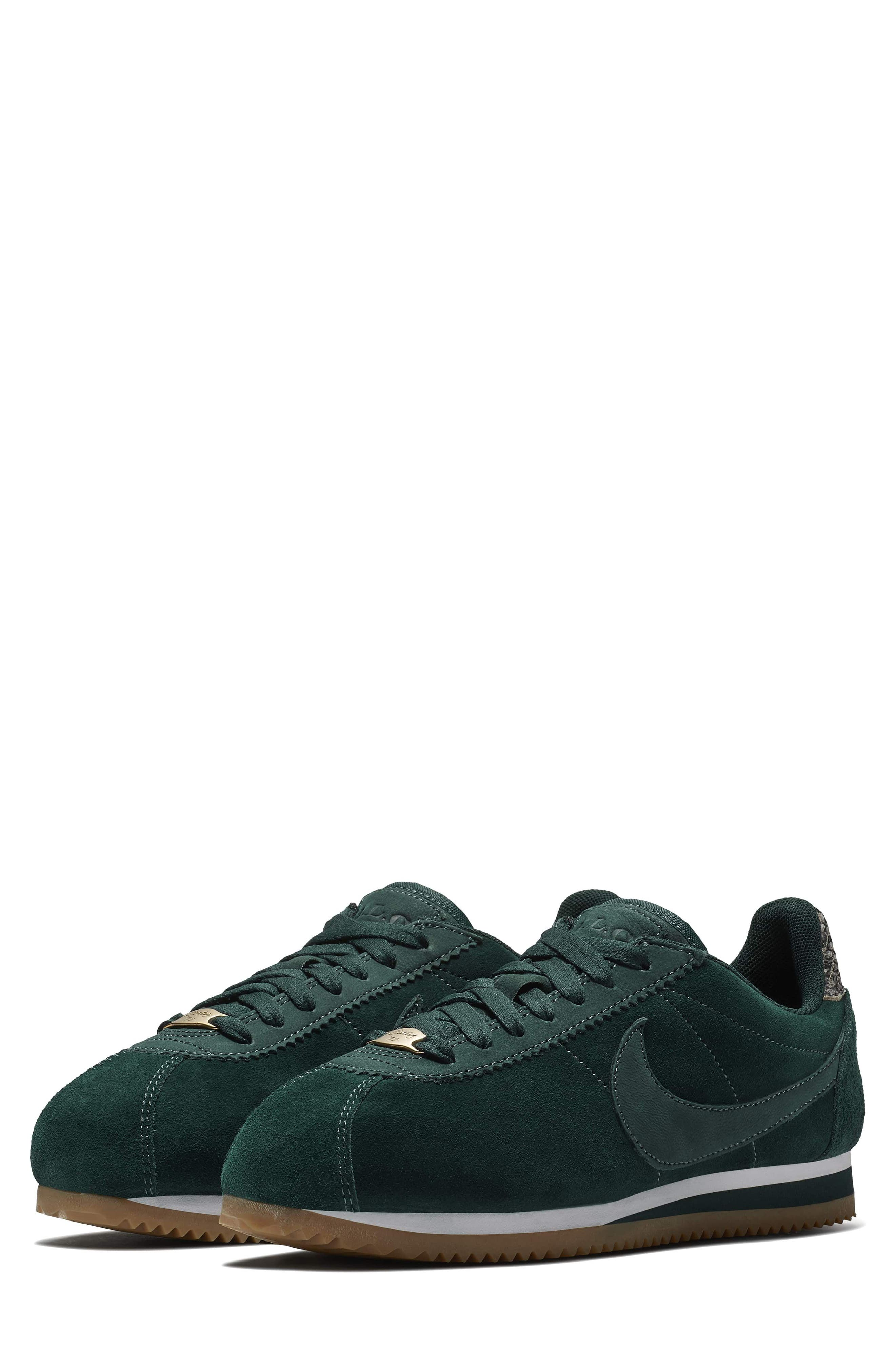 x A.L.C. Classic Cortez Sneaker,                             Main thumbnail 1, color,                             Midnight Spruce/ White