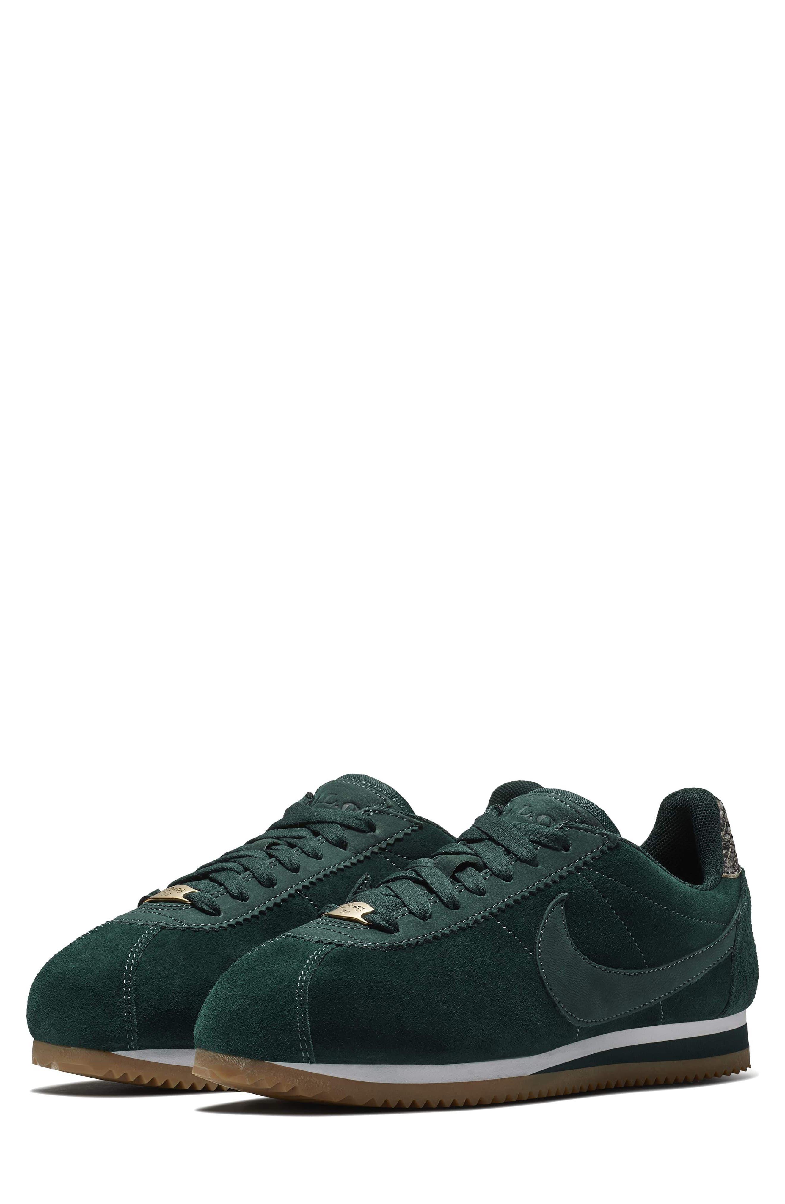 x A.L.C. Classic Cortez Sneaker,                         Main,                         color, Midnight Spruce/ White