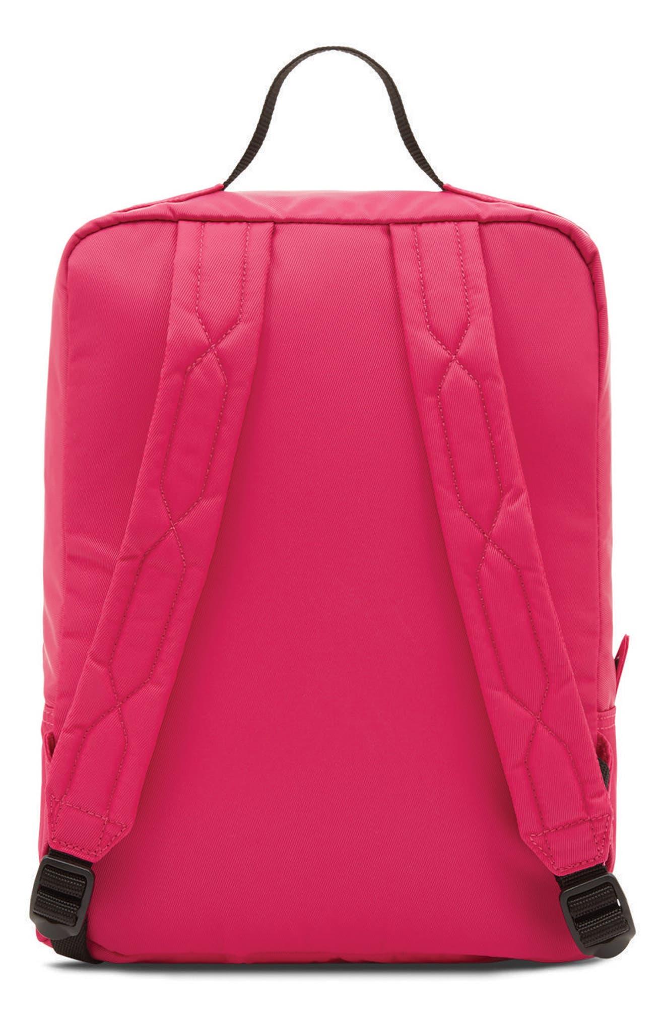 Original Water Resistant Nylon Backpack,                             Alternate thumbnail 2, color,                             Bright Pink