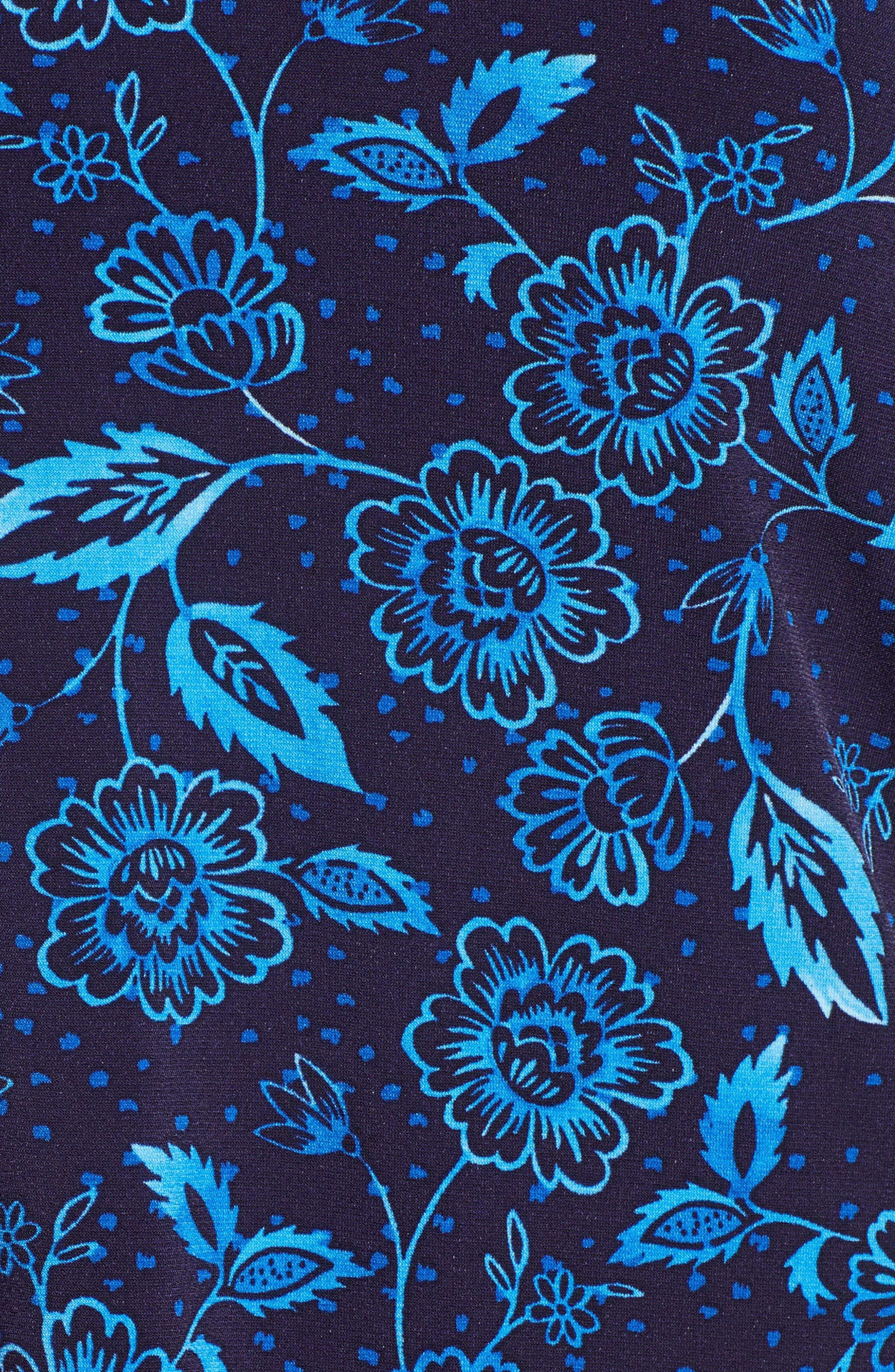 Flowering Vine Top,                             Alternate thumbnail 6, color,                             Evening Navy