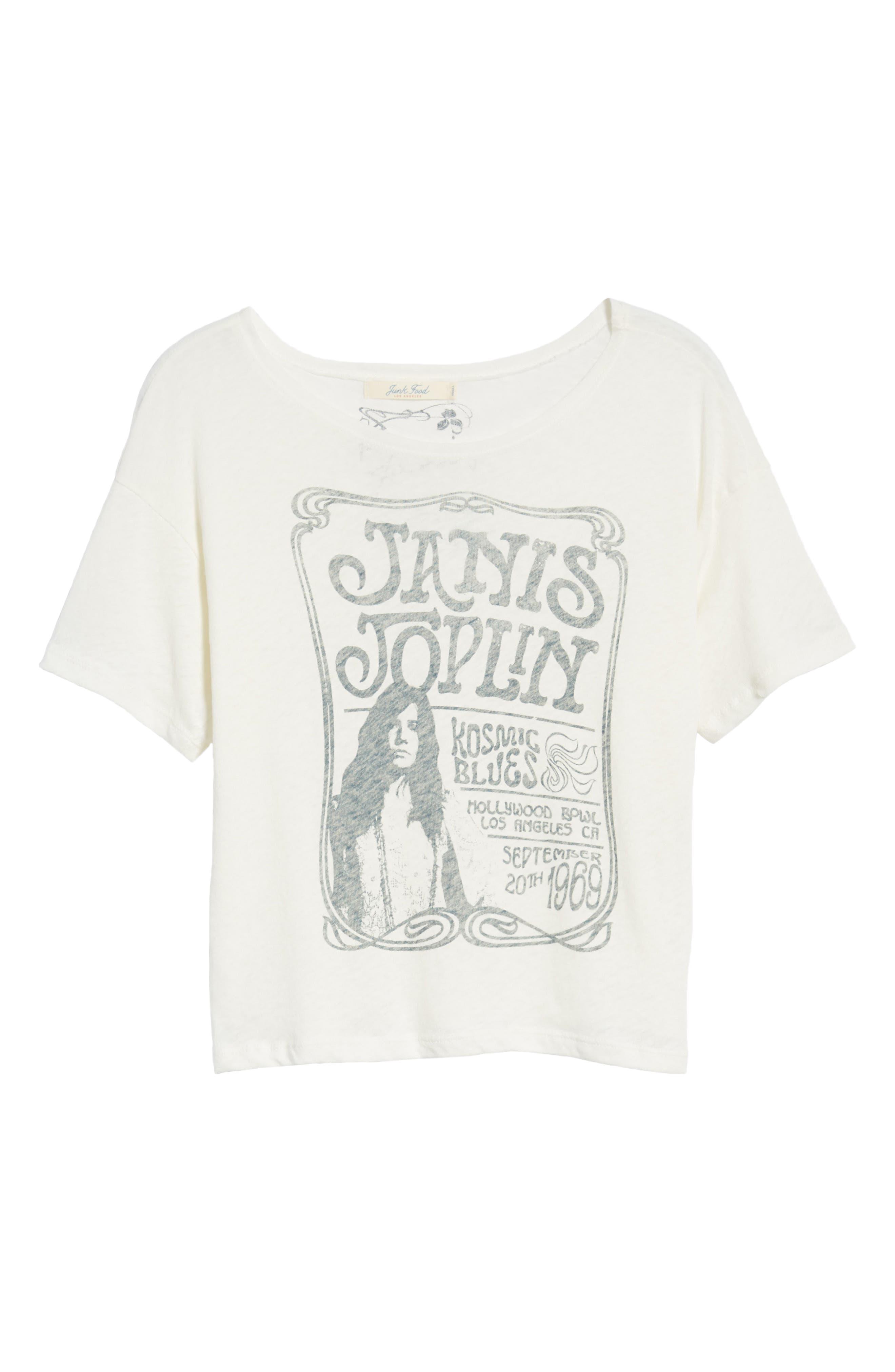 Janis Joplin Tee,                             Alternate thumbnail 7, color,                             Sugar