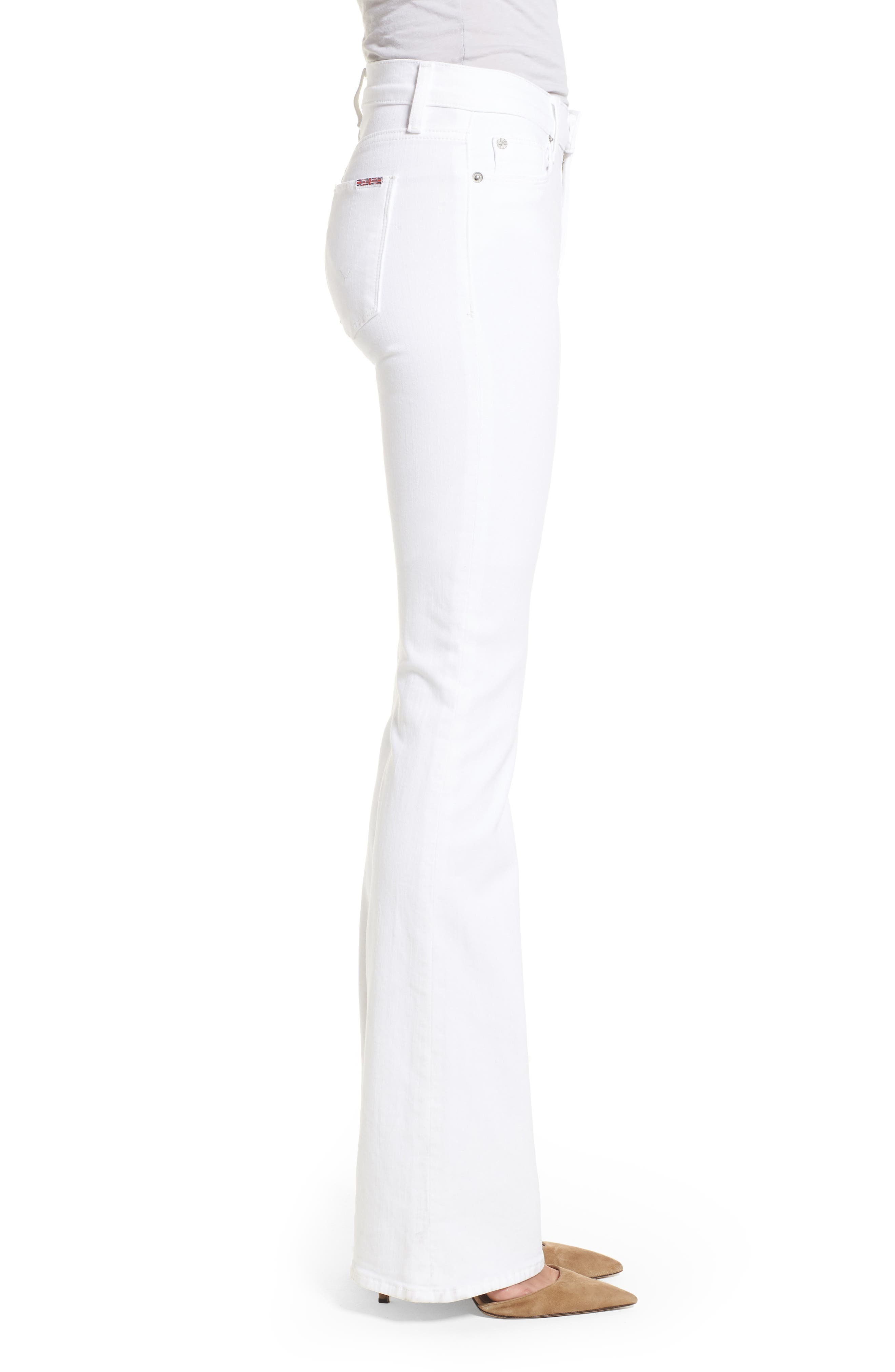 Drew Bootcut Jeans,                             Alternate thumbnail 3, color,                             Optical White