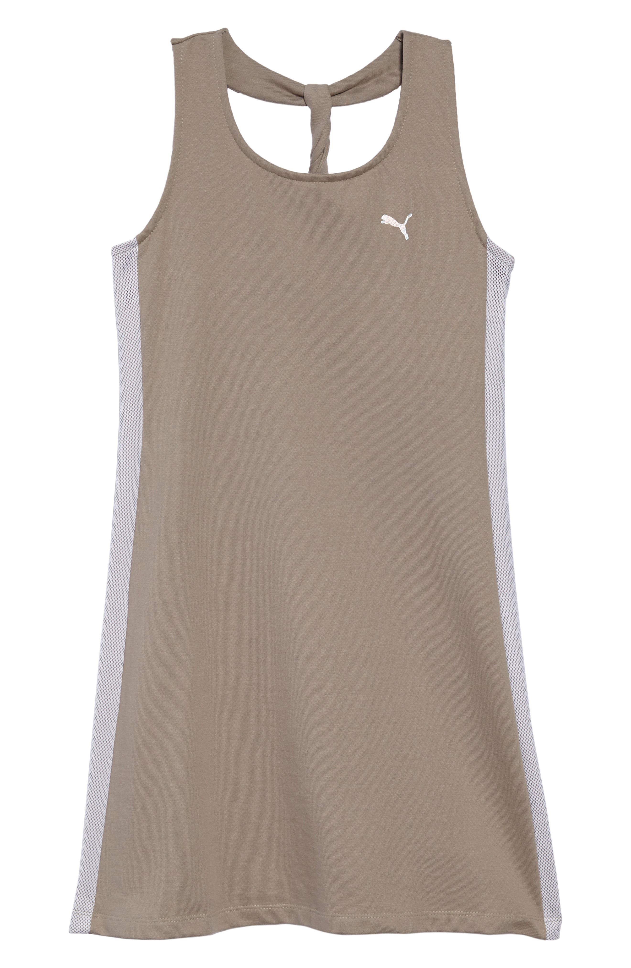 Twist Back Tank Dress,                         Main,                         color, Rock Ridge