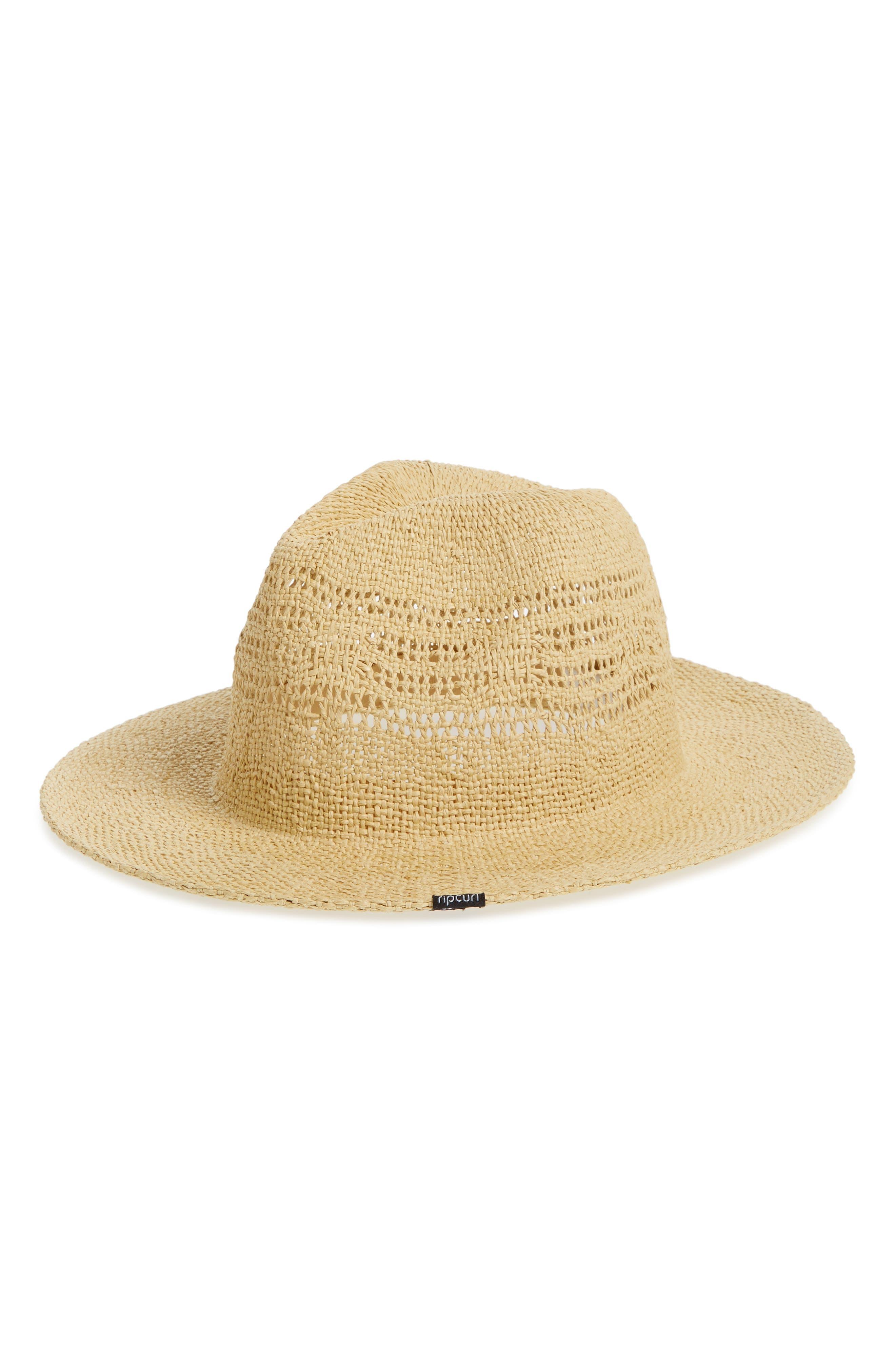 Ritual Panama Straw Hat,                             Main thumbnail 1, color,                             Natural