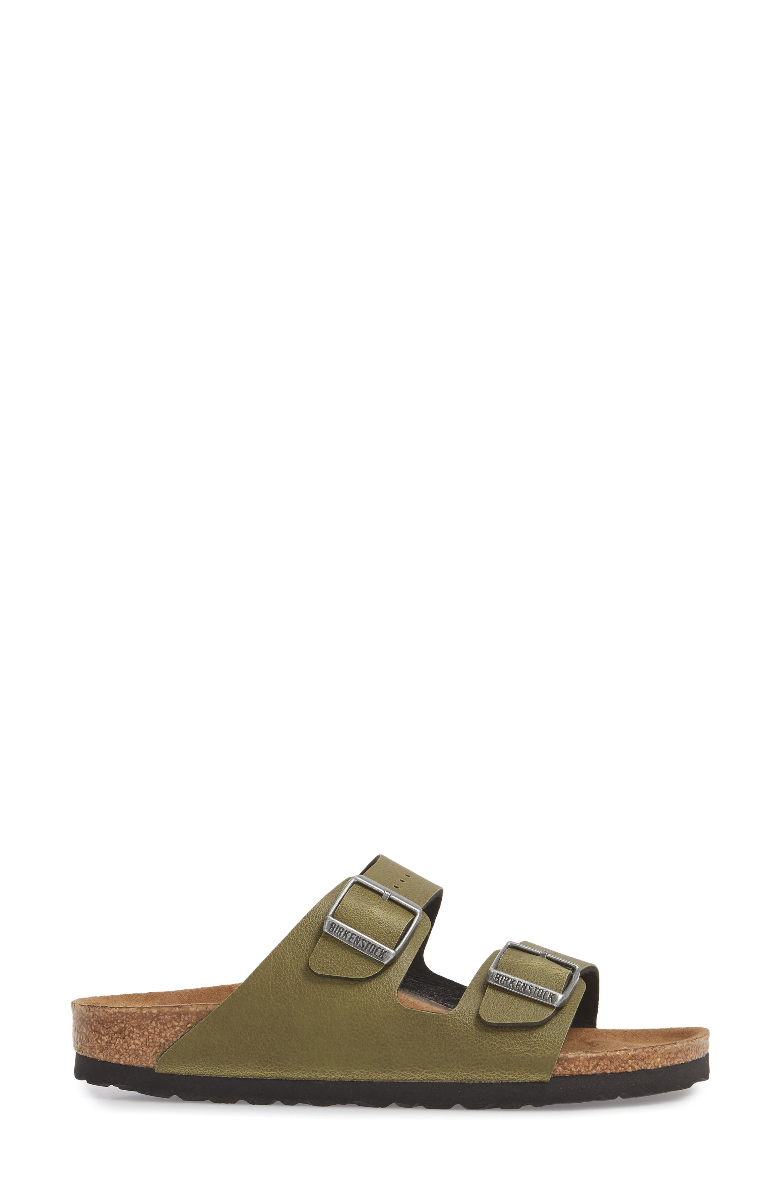 Alternate Image 3  - Birkenstock Arizona Birko-Flor™ Slide Sandal (Women)