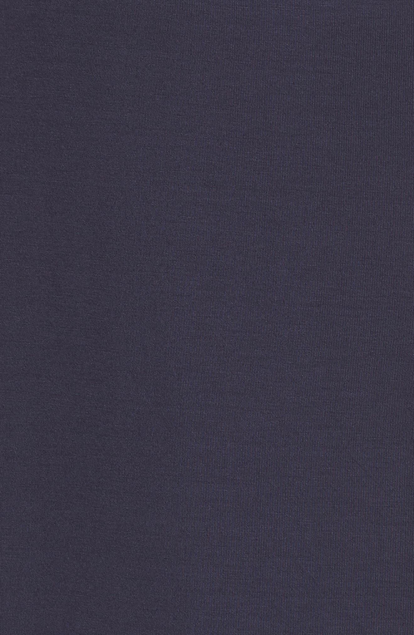 Feathers Essential Sleep Shirt,                             Alternate thumbnail 5, color,                             Night Blue