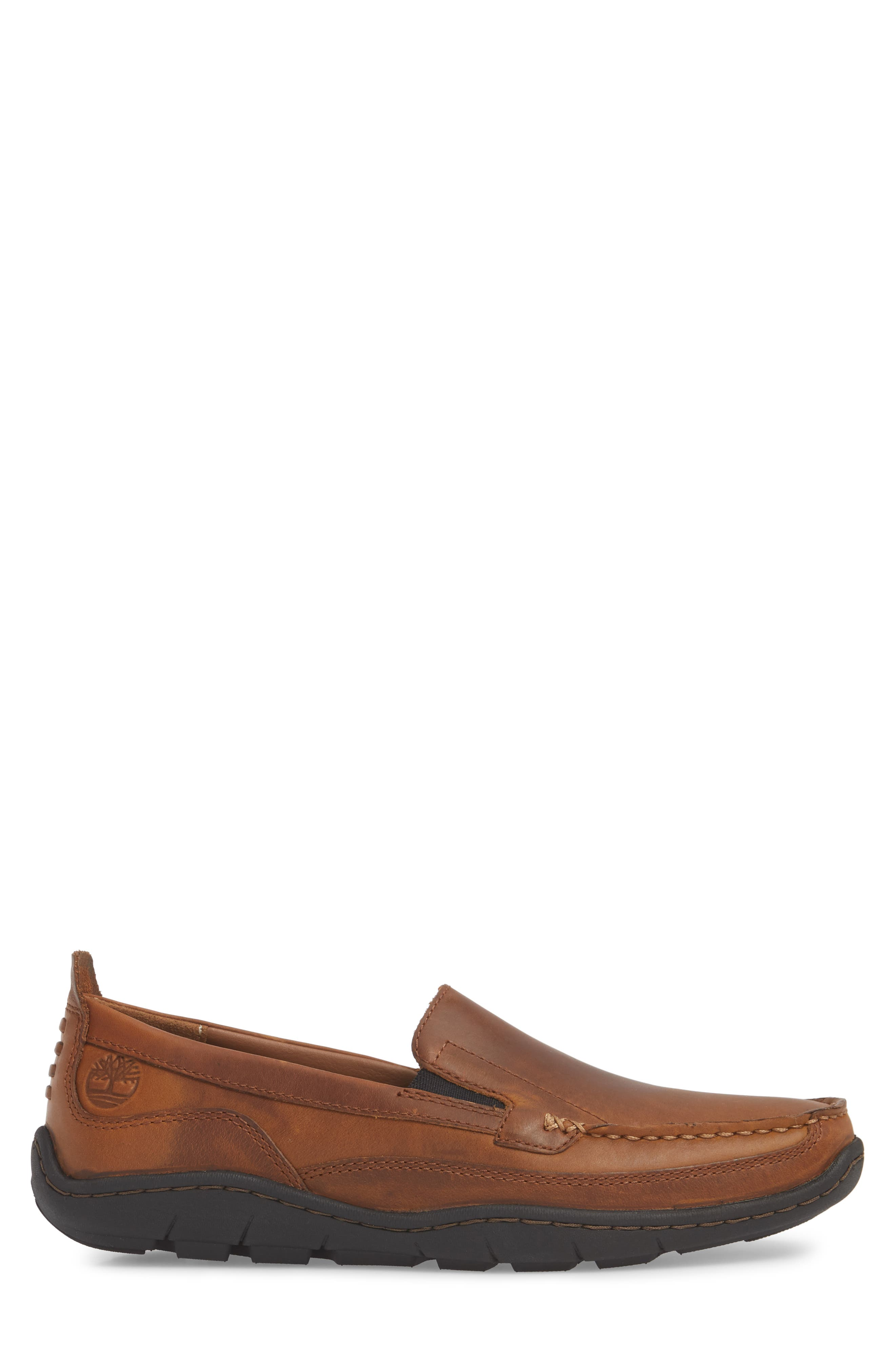 Sandspoint Venetian Loafer,                             Alternate thumbnail 3, color,                             Tan Old Harness