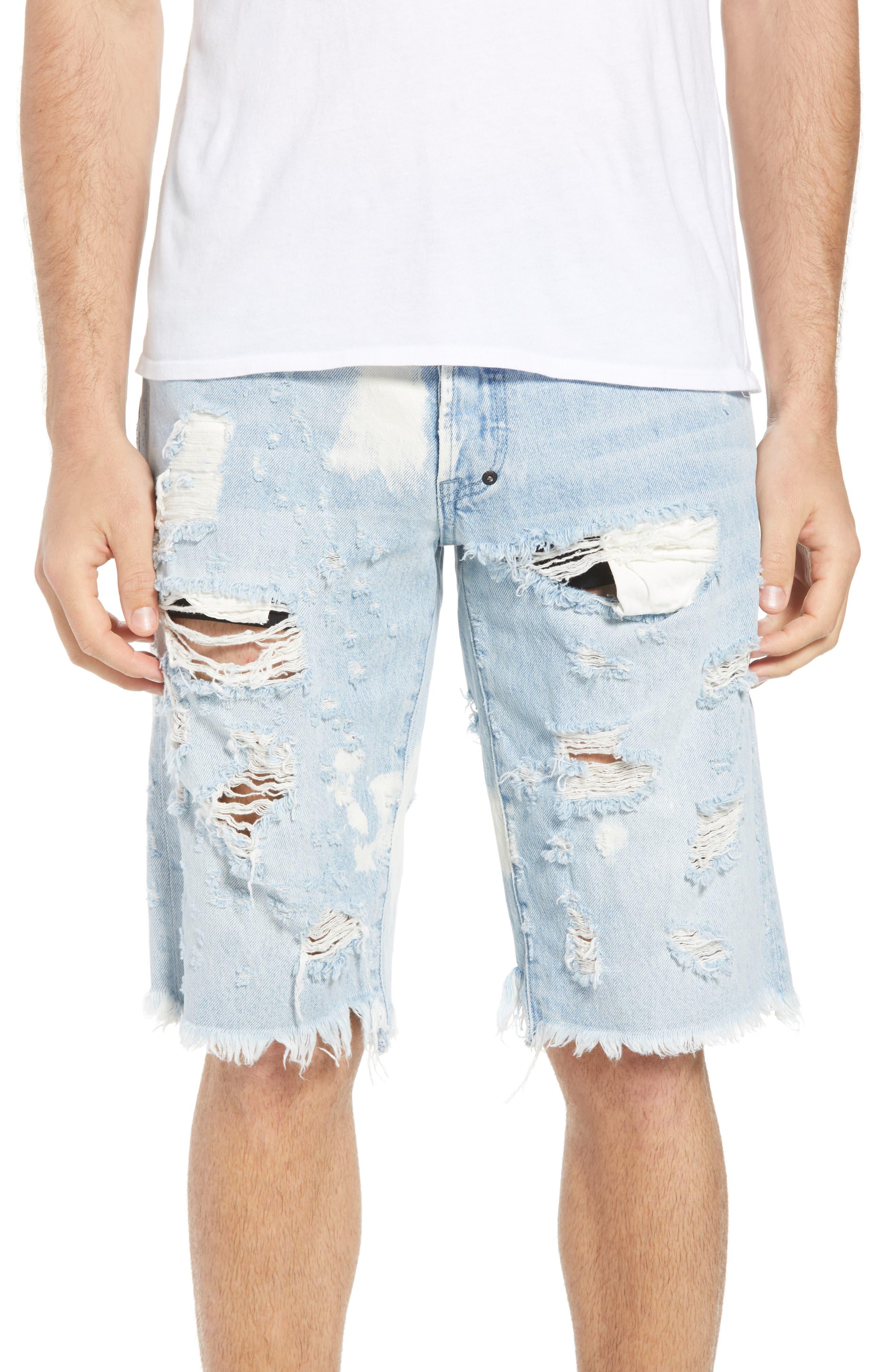 Alternate Image 1 Selected - PRPS Challenger Regular Fit Shorts (Ultra)