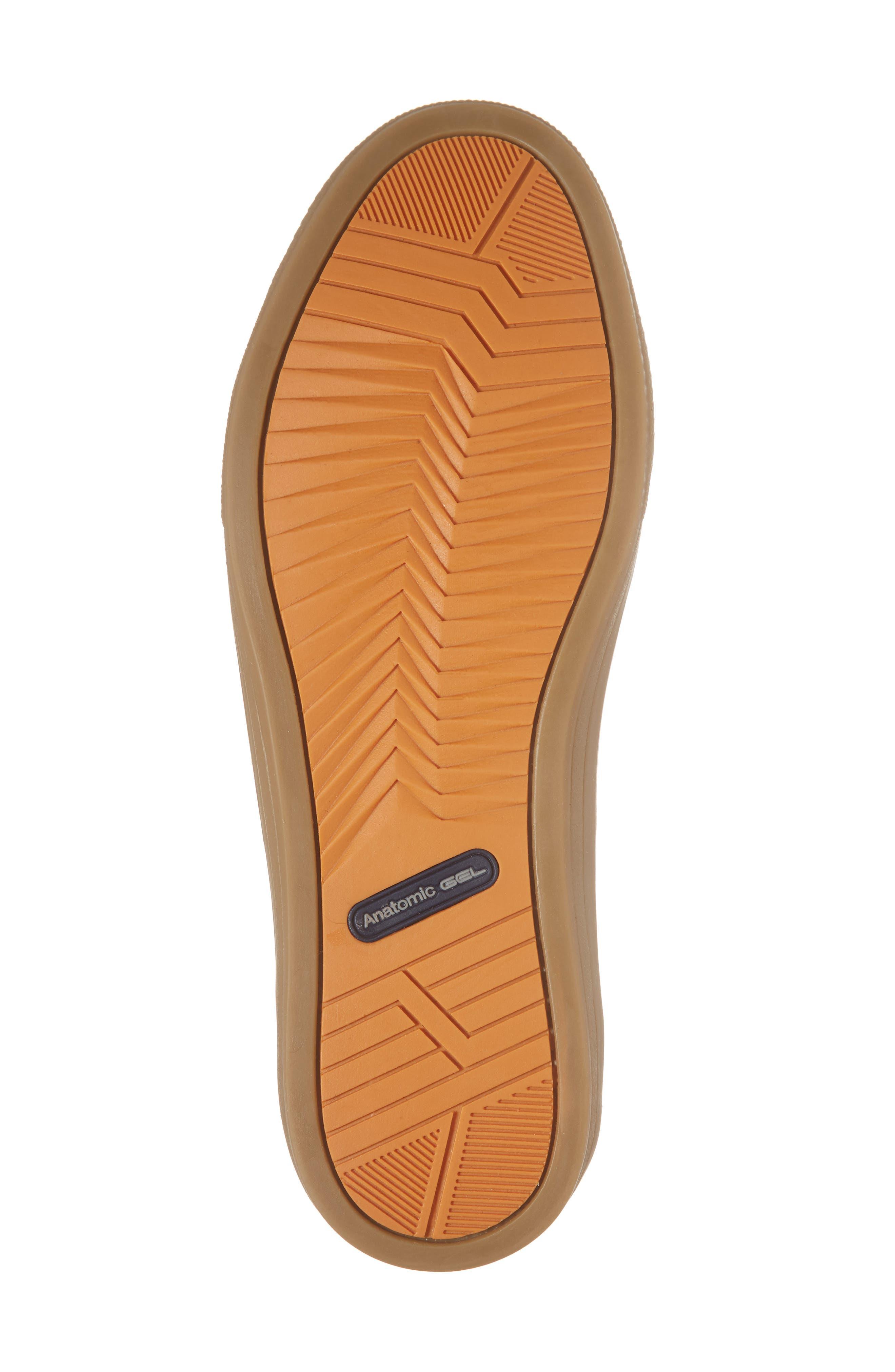 Bilac Low Top Sneaker,                             Alternate thumbnail 6, color,                             Touch Bronze/ Castanho Leather