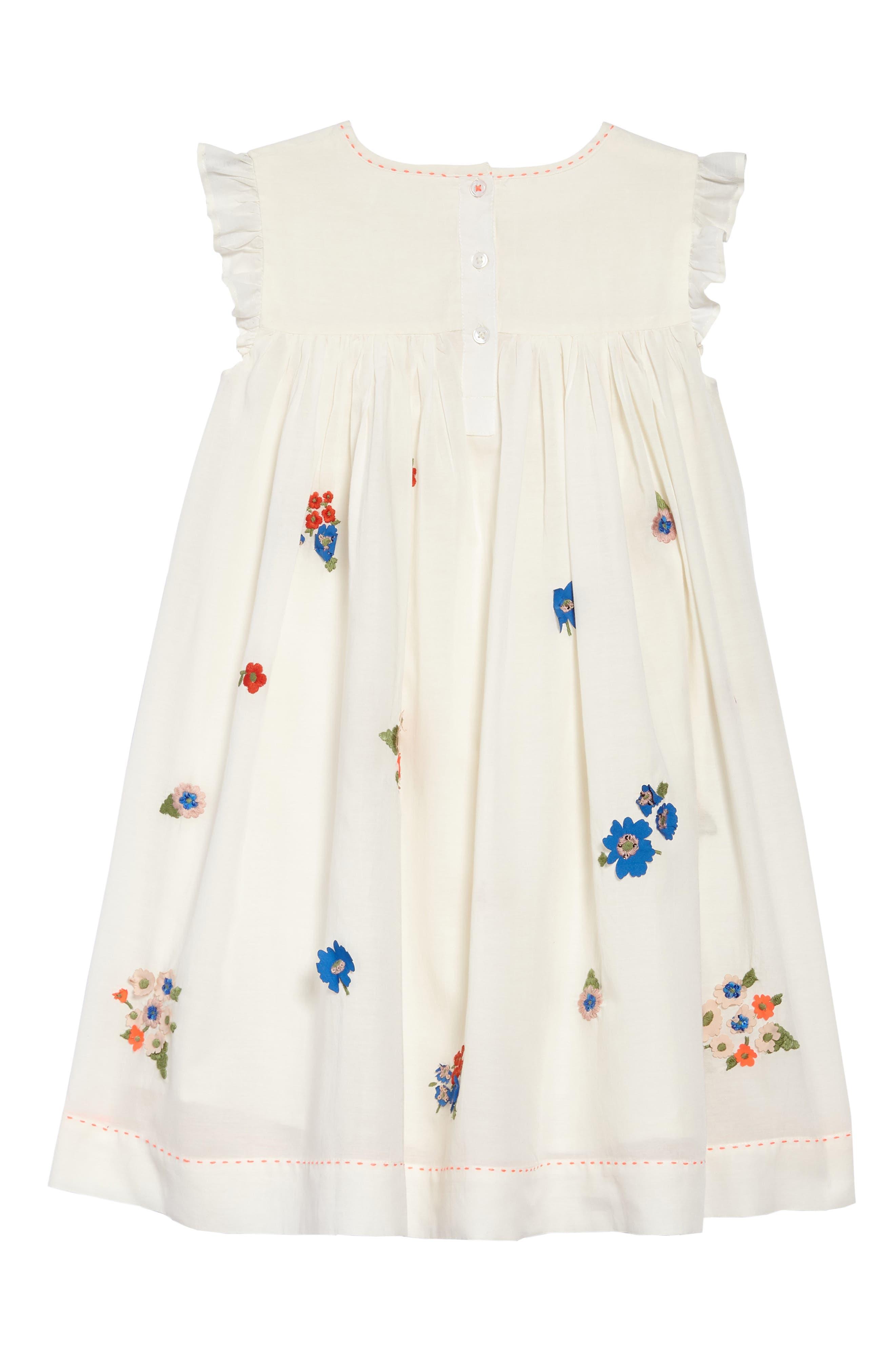 Embroidered Smock Dress,                             Alternate thumbnail 2, color,                             Mltmulti Vintage Posy