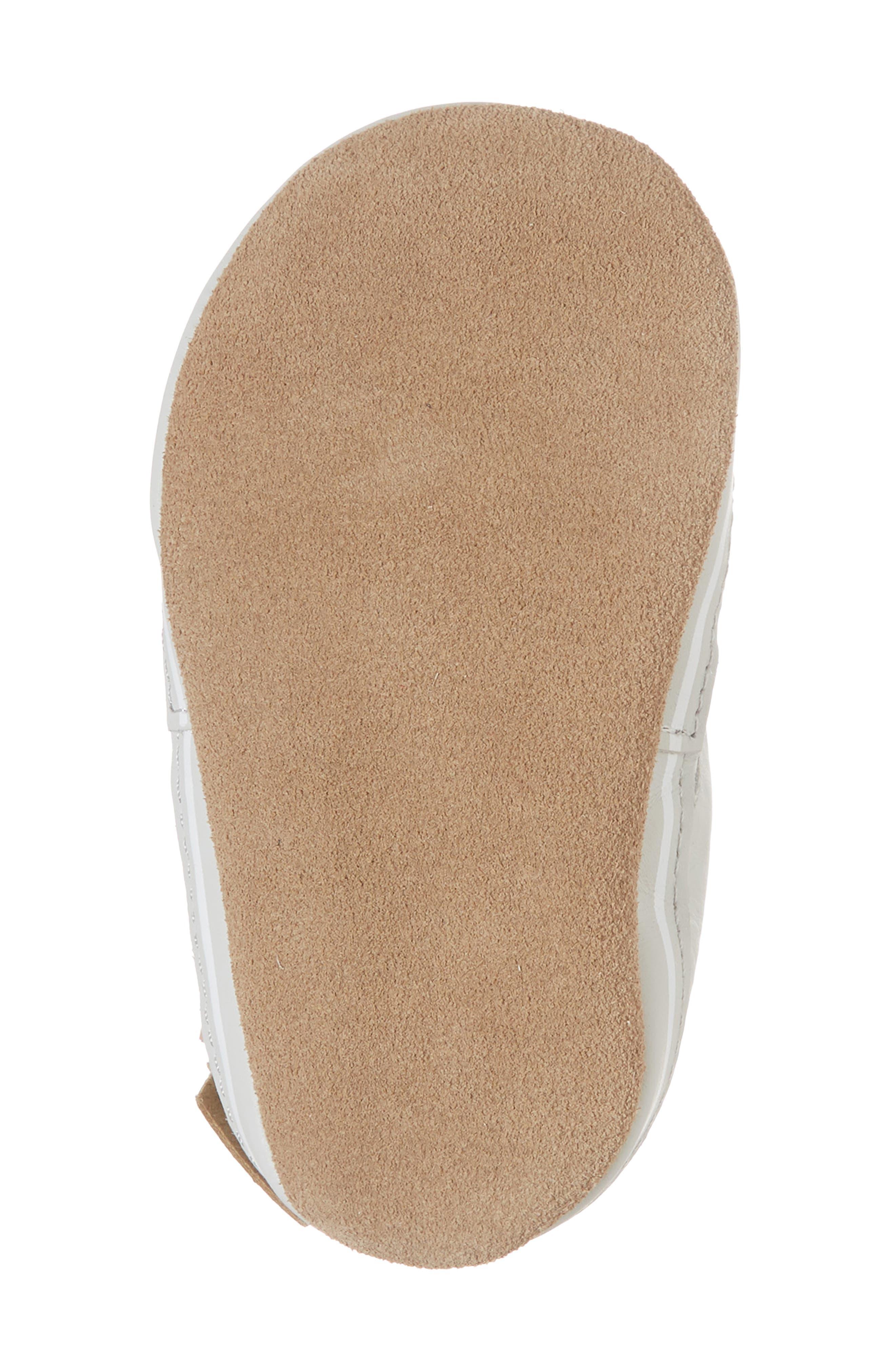 Alternate Image 6  - Robeez® Trendy Trainer Sneaker Crib Shoe (Baby)
