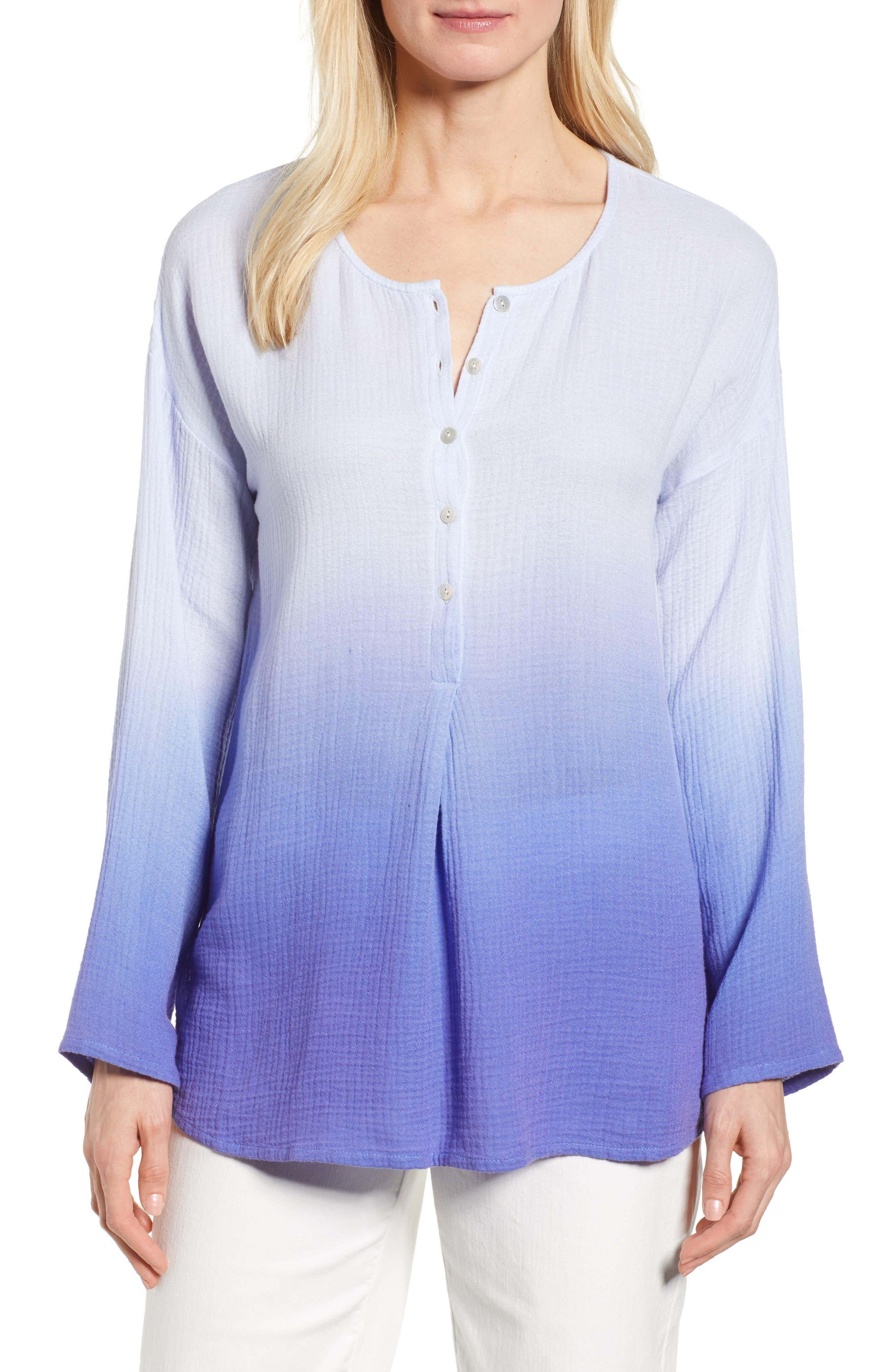 Take Comfort Tunic Top,                         Main,                         color, Ultramarine