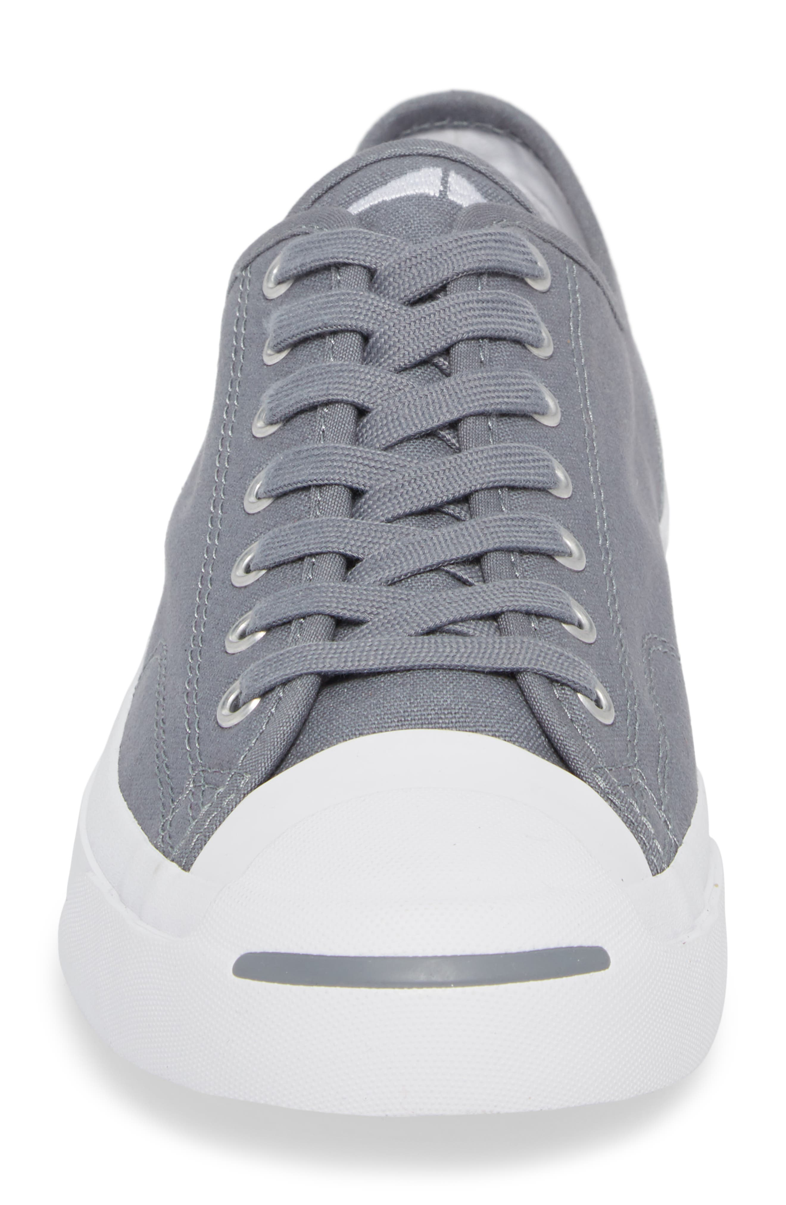 'Jack Purcell' Sneaker,                             Alternate thumbnail 4, color,                             Cool Grey Canvas