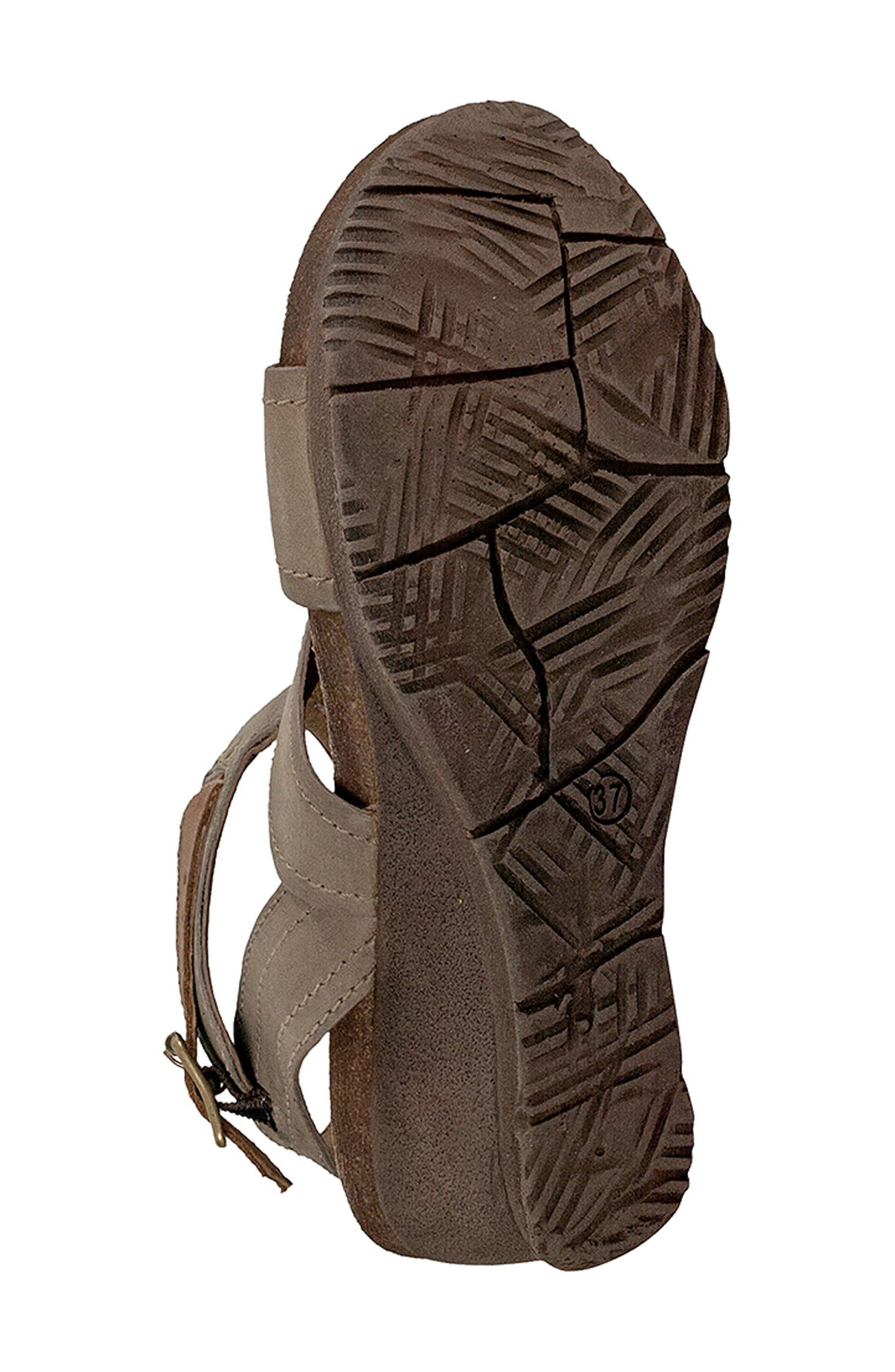 Scout Wedge Sandal,                             Alternate thumbnail 5, color,                             Pebble Leather