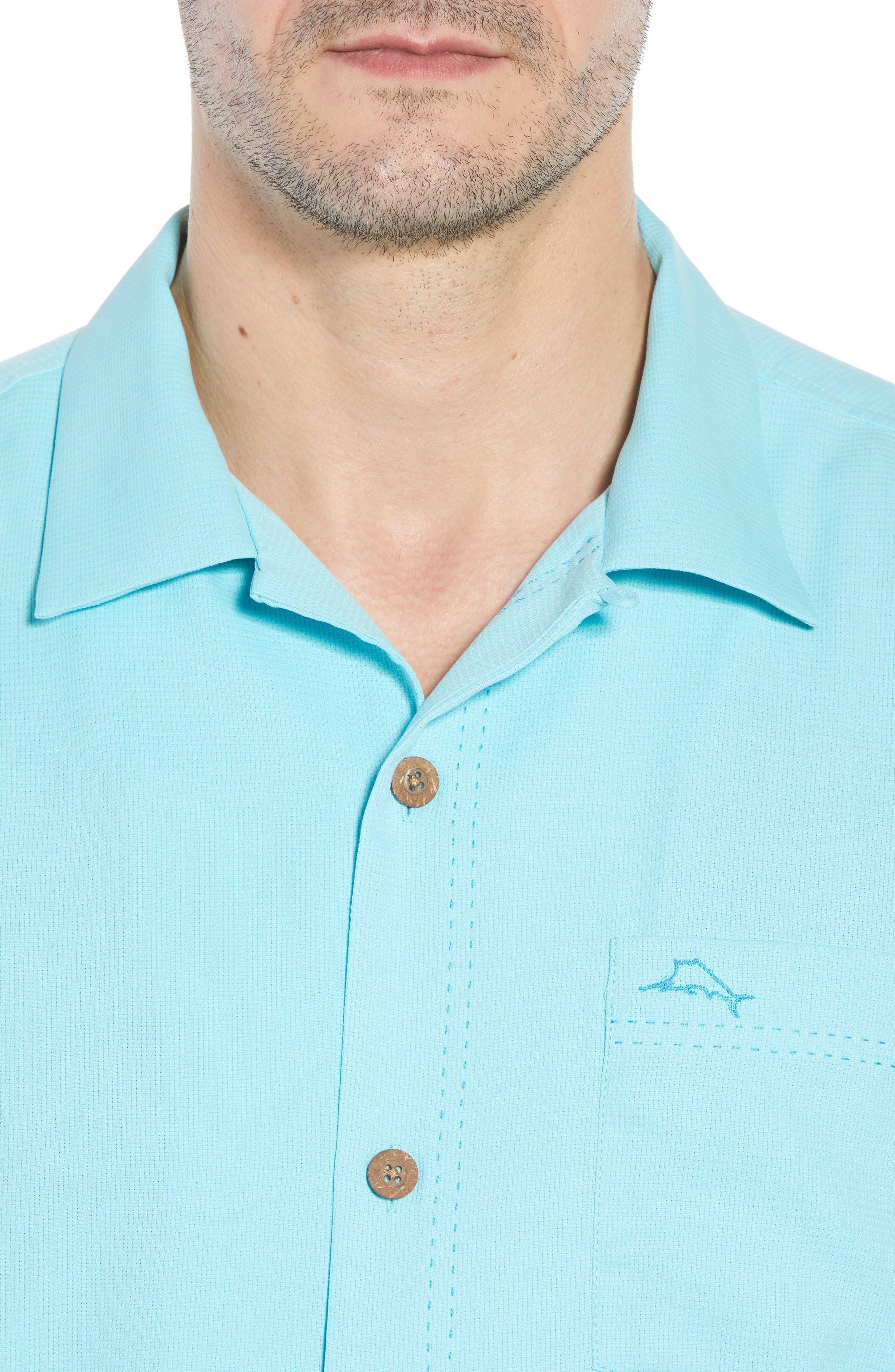 The Salvatore Standard Fit Sport Shirt,                             Alternate thumbnail 4, color,                             Allure