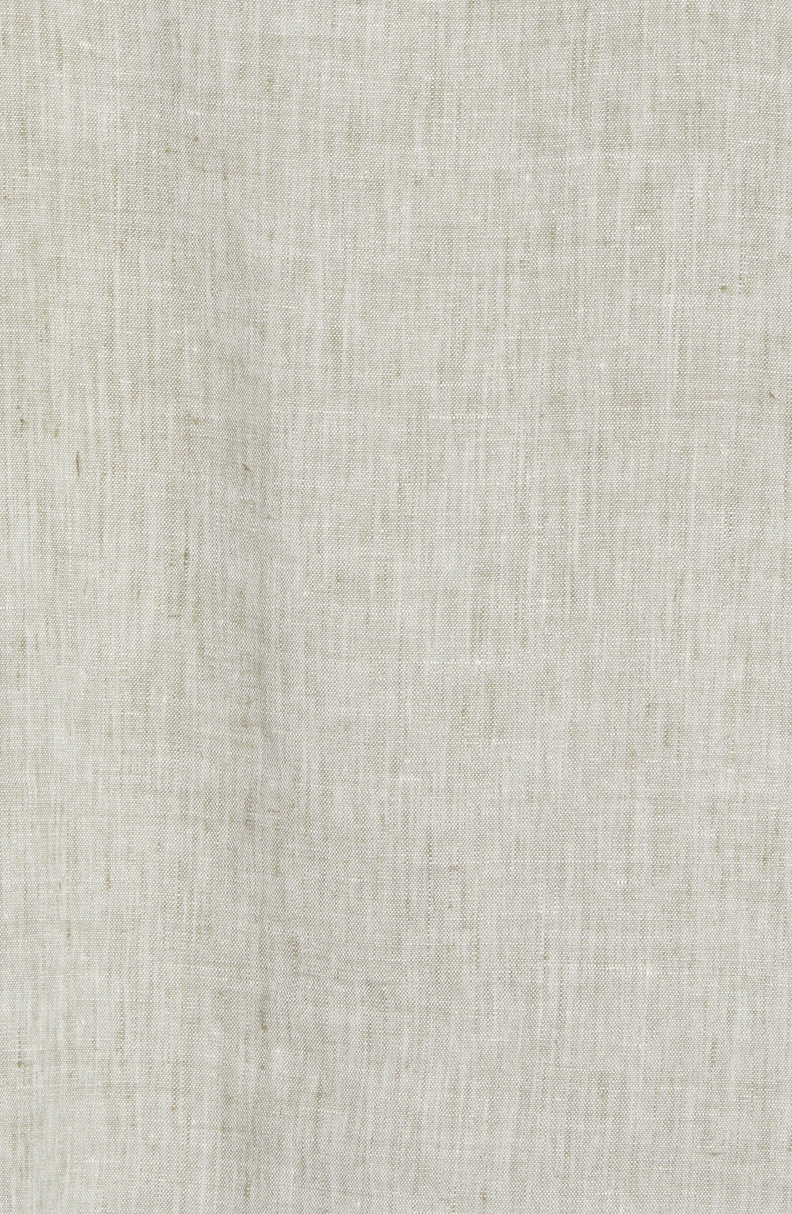 Alternate Image 5  - Tommy Bahama Lanai Tides Regular Fit Linen Blend Sport Shirt