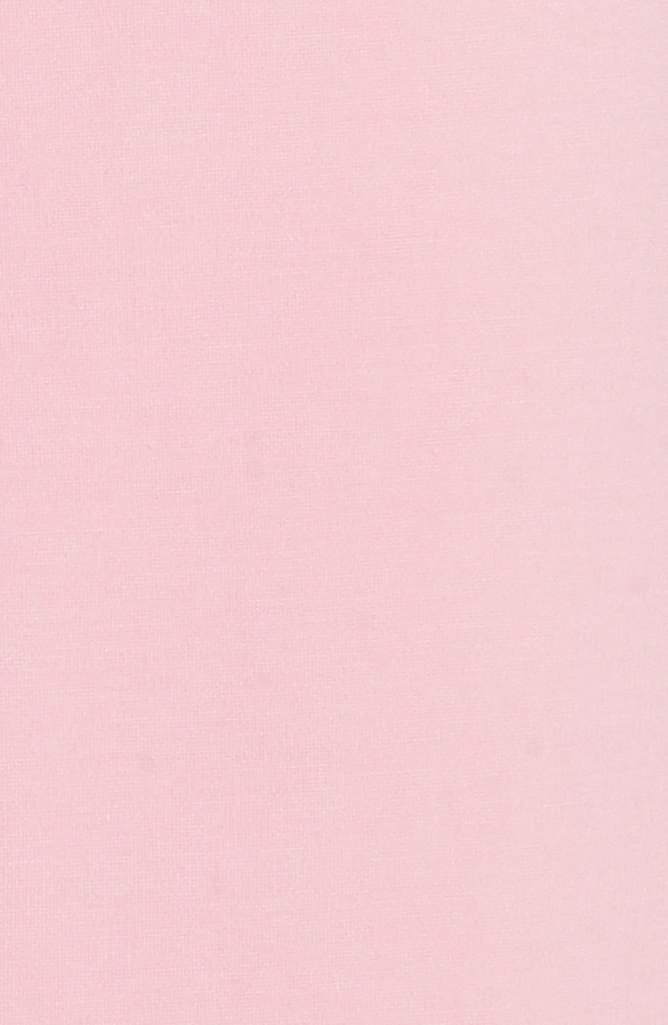 Papron Tie Front Dress,                             Alternate thumbnail 5, color,                             Pink